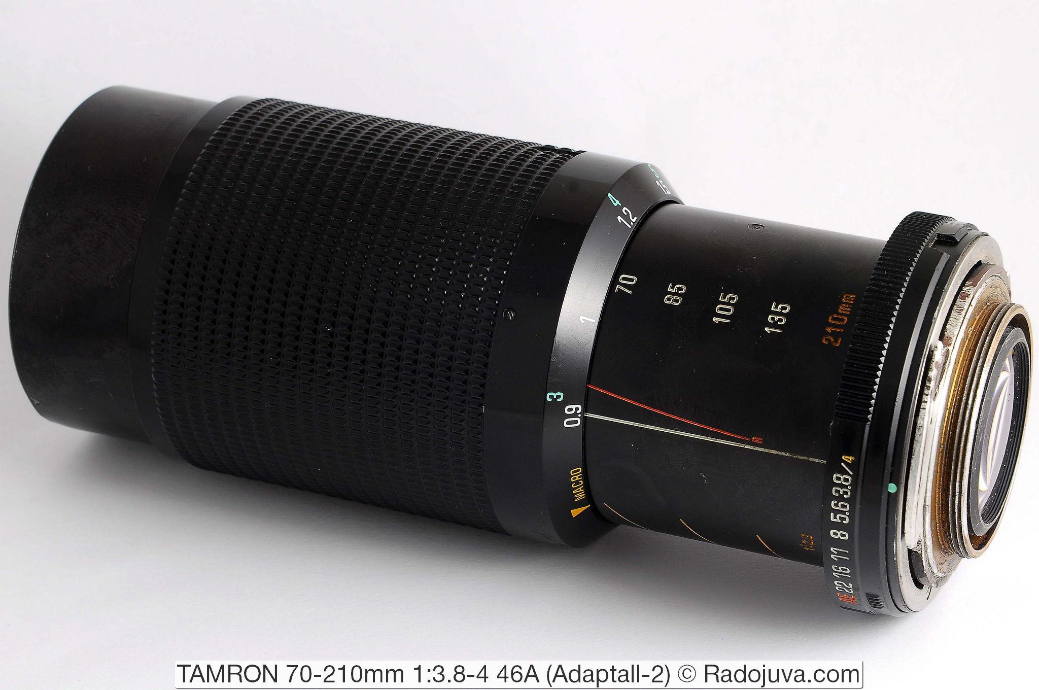 TAMRON 70-210mm 1:3.8-4 46A (Adaptall-2)