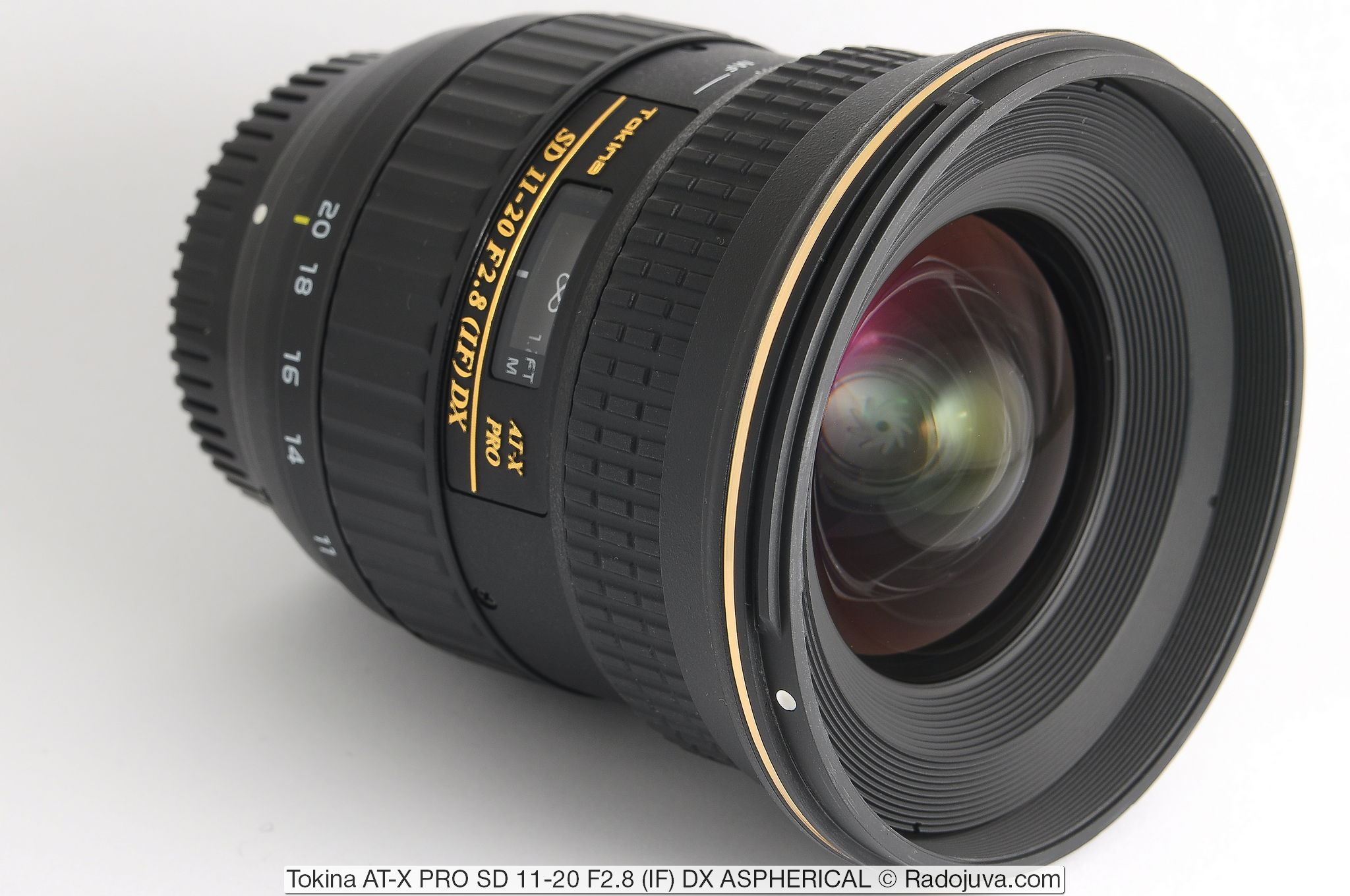 Tokina AT-X PRO SD 11-20 F2.8 (IF) DX ASPHERICAL