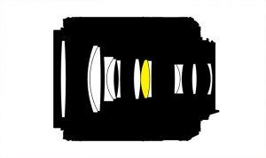 Оптическая схема Nikon 55-200 VRII (G2)