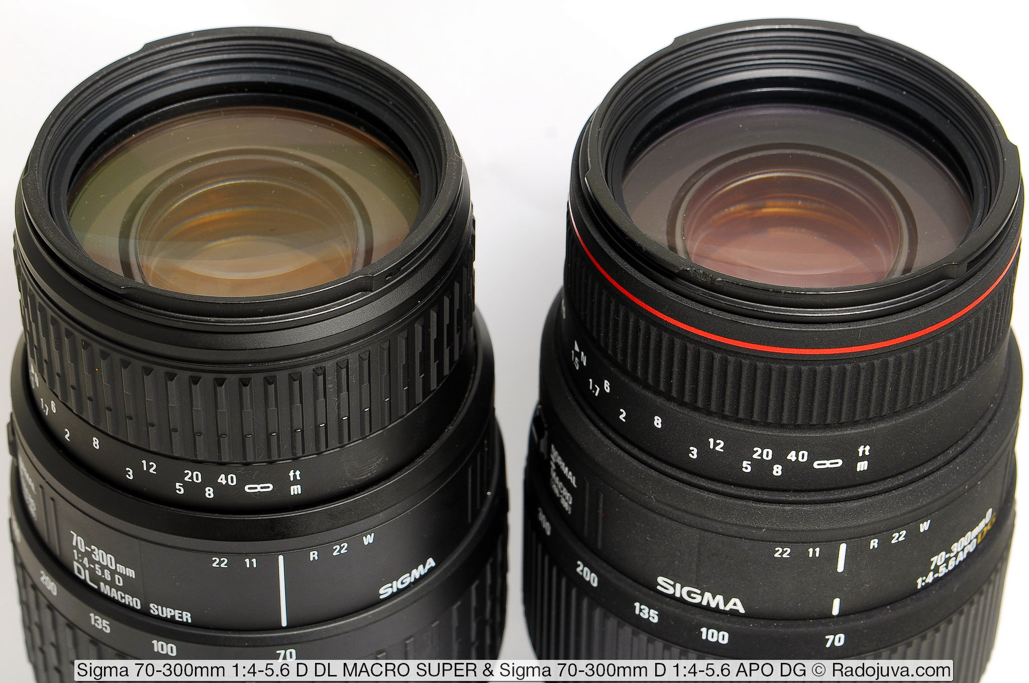 Sigma 70-300mm D 1:4-5.6 APO DG и Sigma 70-300mm 1:4-5.6 D DL MACRO SUPER