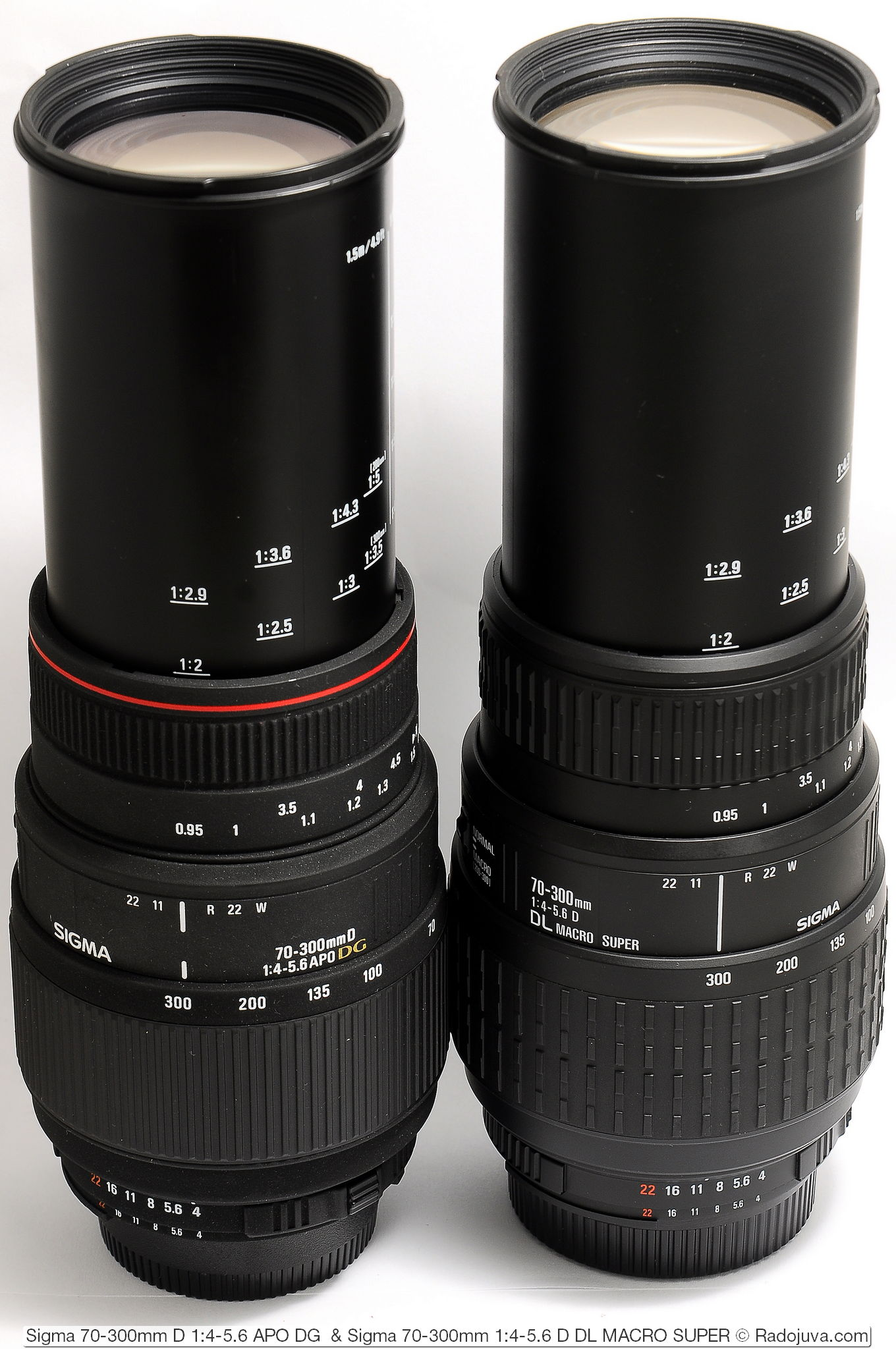 Sigma 70-300mm D 1:4-5.6 APO DG и Sigma 70-300mm 1:4-5.6 D DL MACRO SUPER