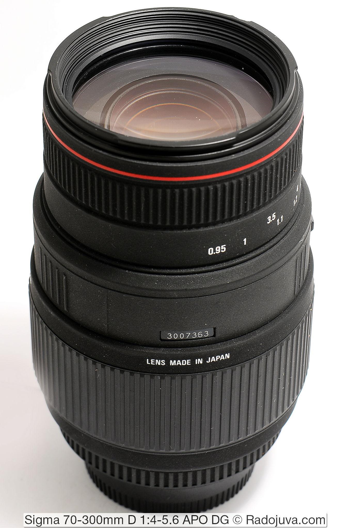 Sigma 70-300mm D 1:4-5.6 APO DG