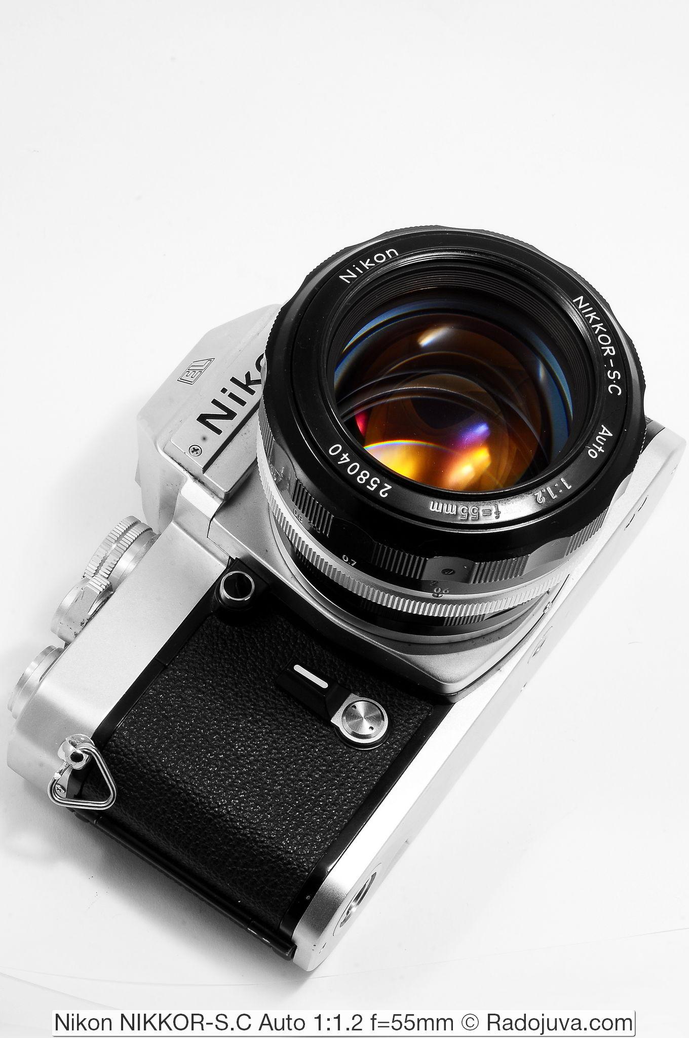 Nikon NIKKOR-S.C Auto 1:1.2 f=55mm