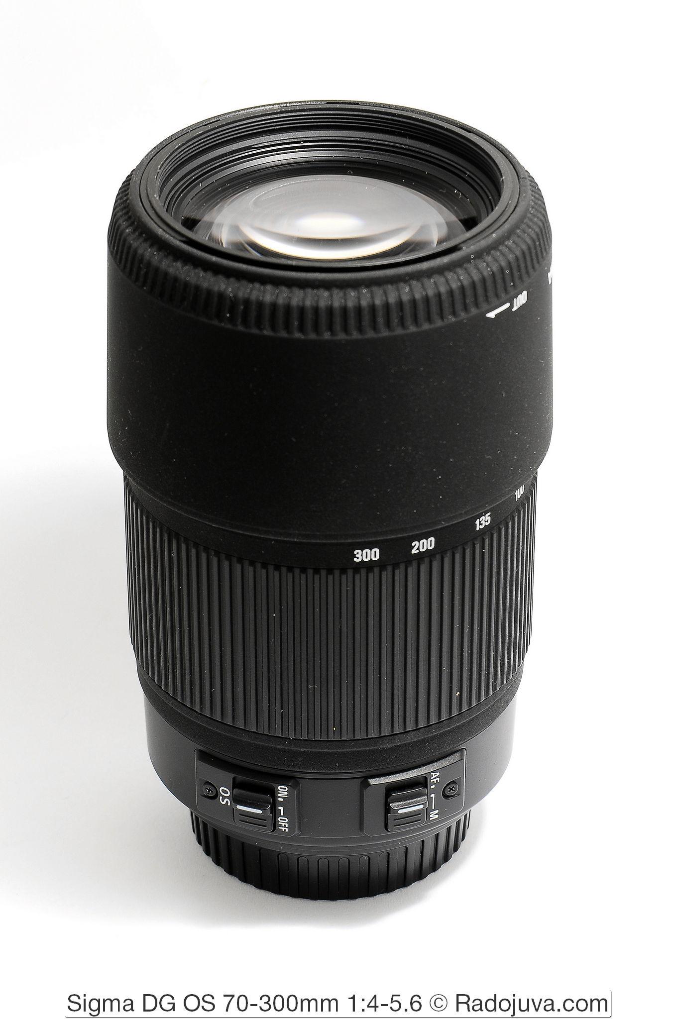 Sigma DG OS 70-300mm 1:4-5.6