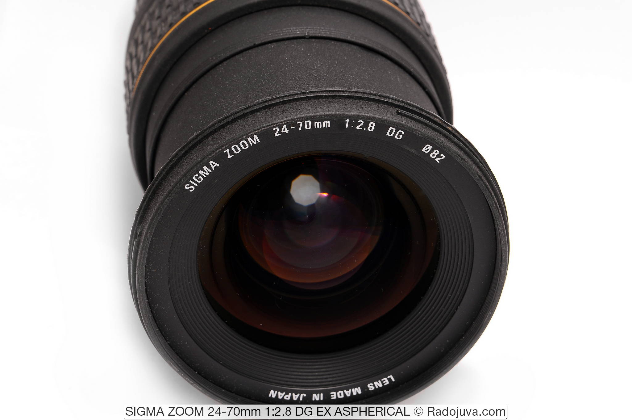 SIGMA ZOOM 24-70mm 1:2.8 DG EX ASPHERICAL