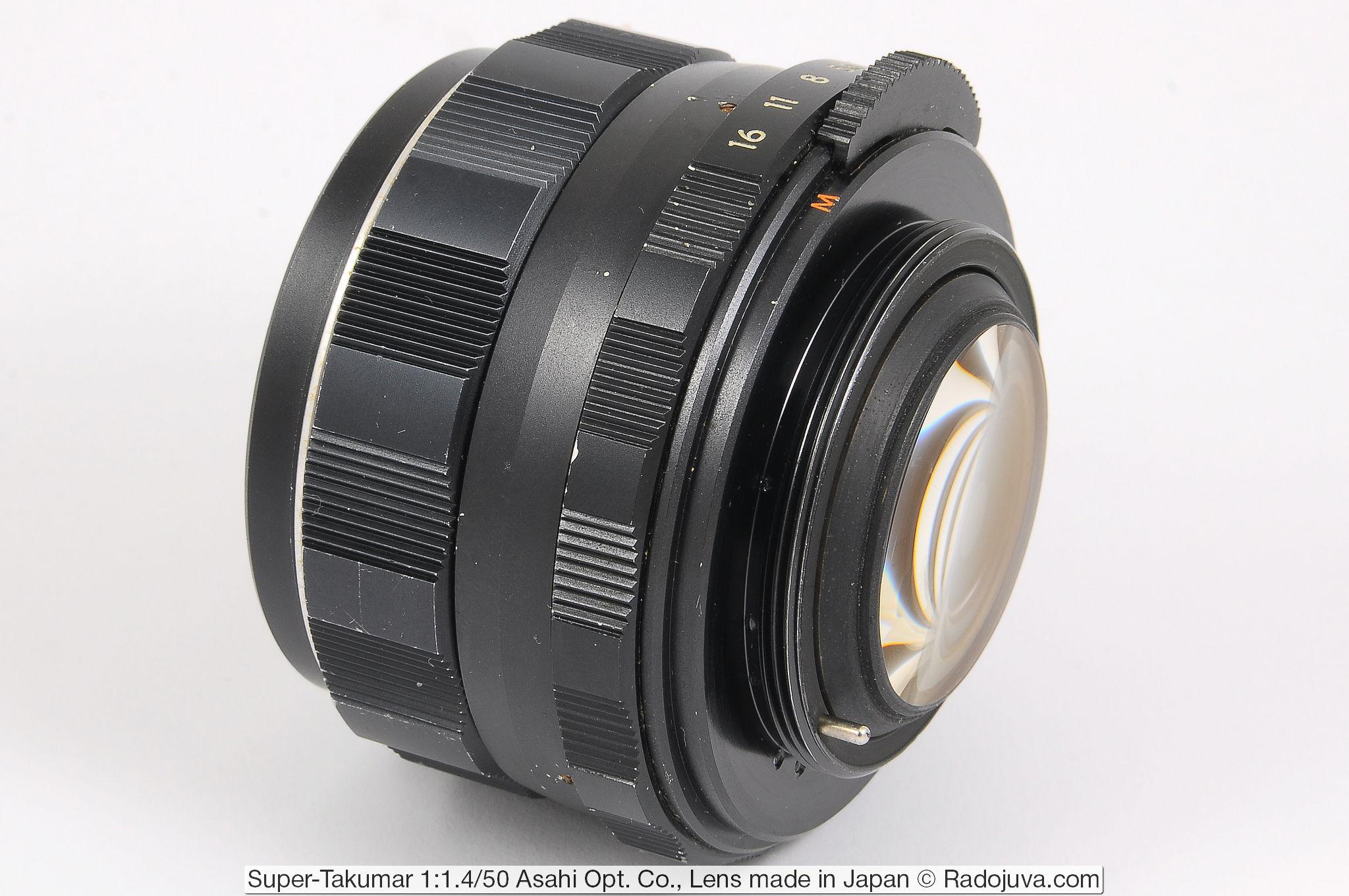 Super-Takumar 1:1.4/50 Asahi Opt. Co.,