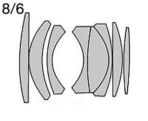 Takumar 50 1.4 оптическая схема 8