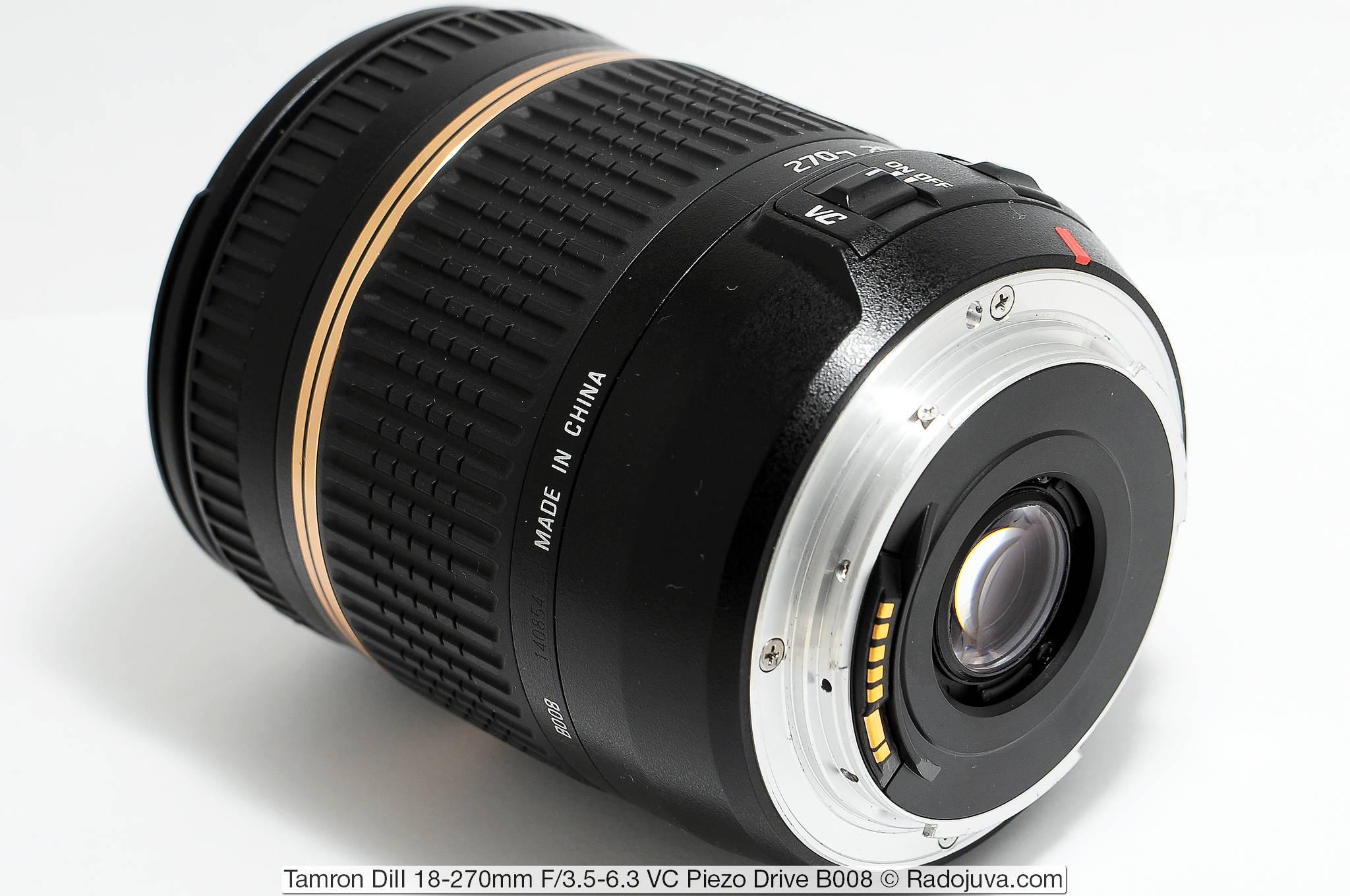 Tamron Di II 18-270mm F/3.5-6.3 VC Piezo Drive B008