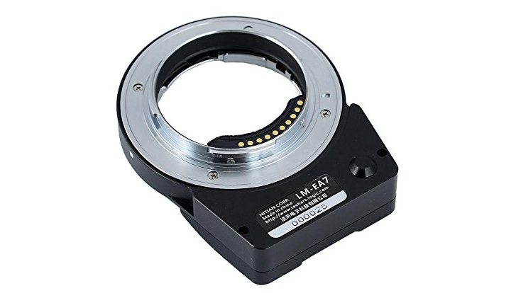 Techart PRO Leica M – Sony E Autofocus Adapter
