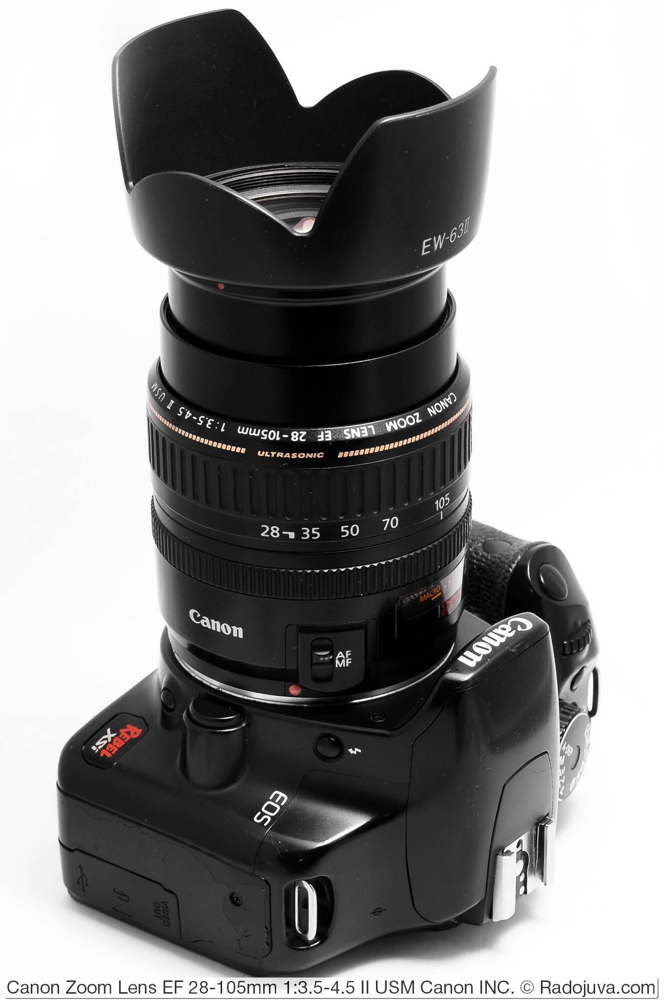Canon Zoom Lens EF 28-105mm 1:3.5-4.5 II USM Canon INC.