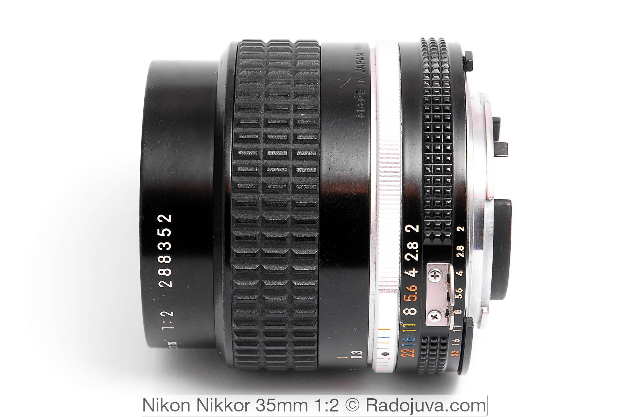 Nikon Nikkor 35mm 1:2 (AI-S)