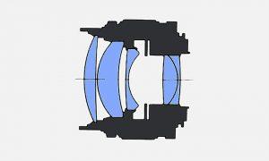 Оптическая схема Olympus Zuiko 85mm f2