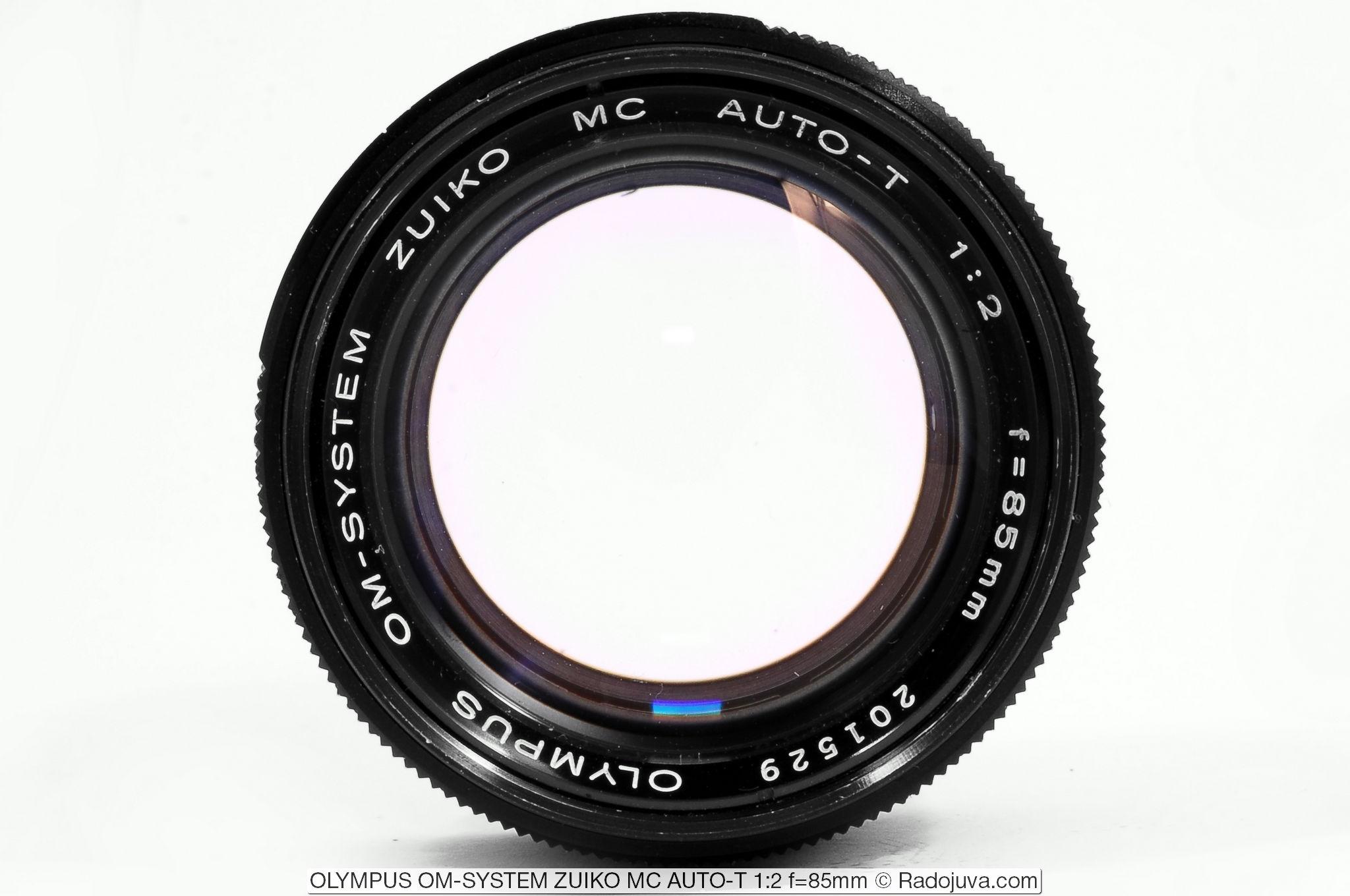 OLYMPUS OM-SYSTEM ZUIKO MC AUTO-T 1:2 f=85mm