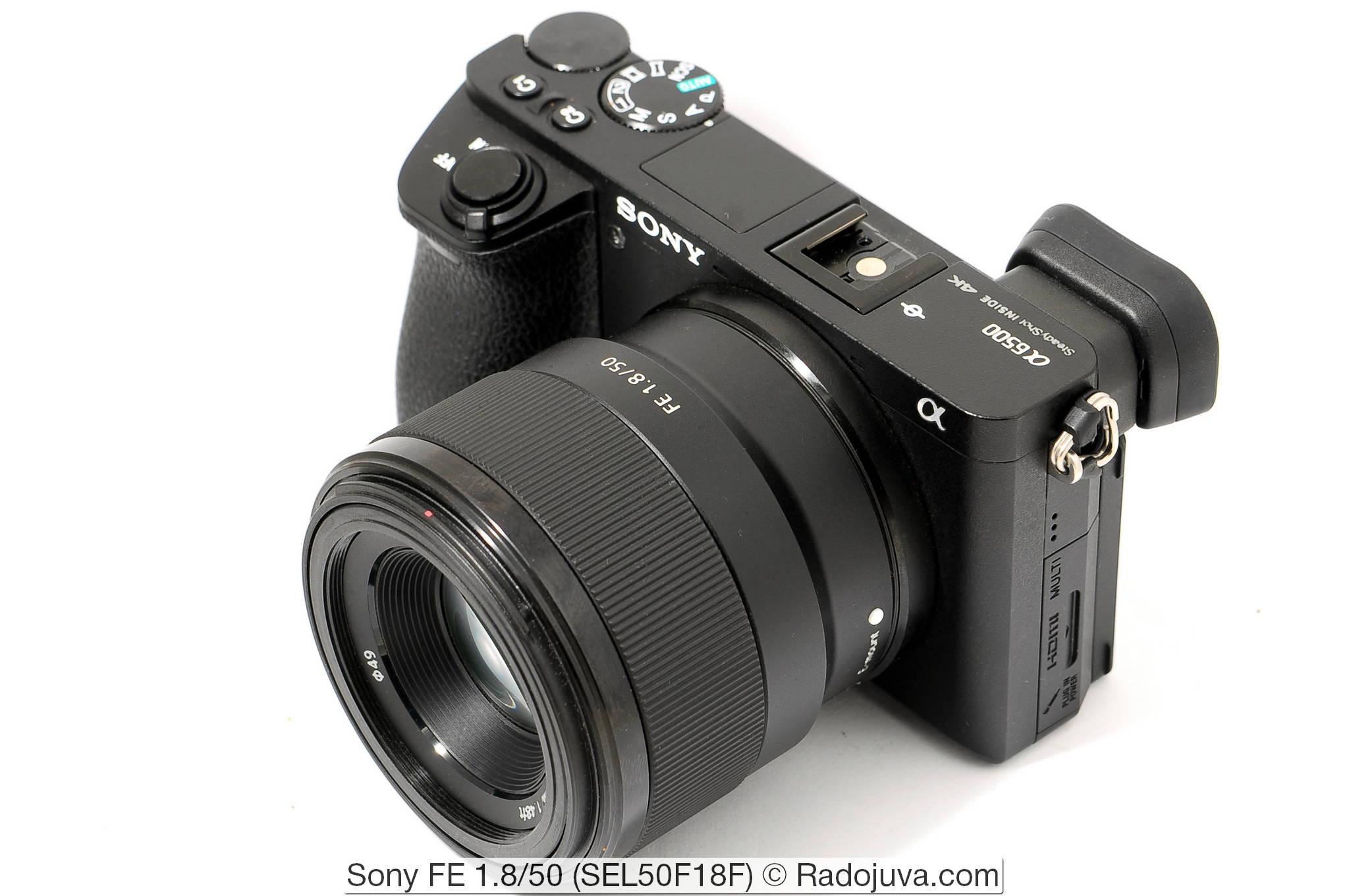 Sony FE 1.8/50 (SEL50F18F)