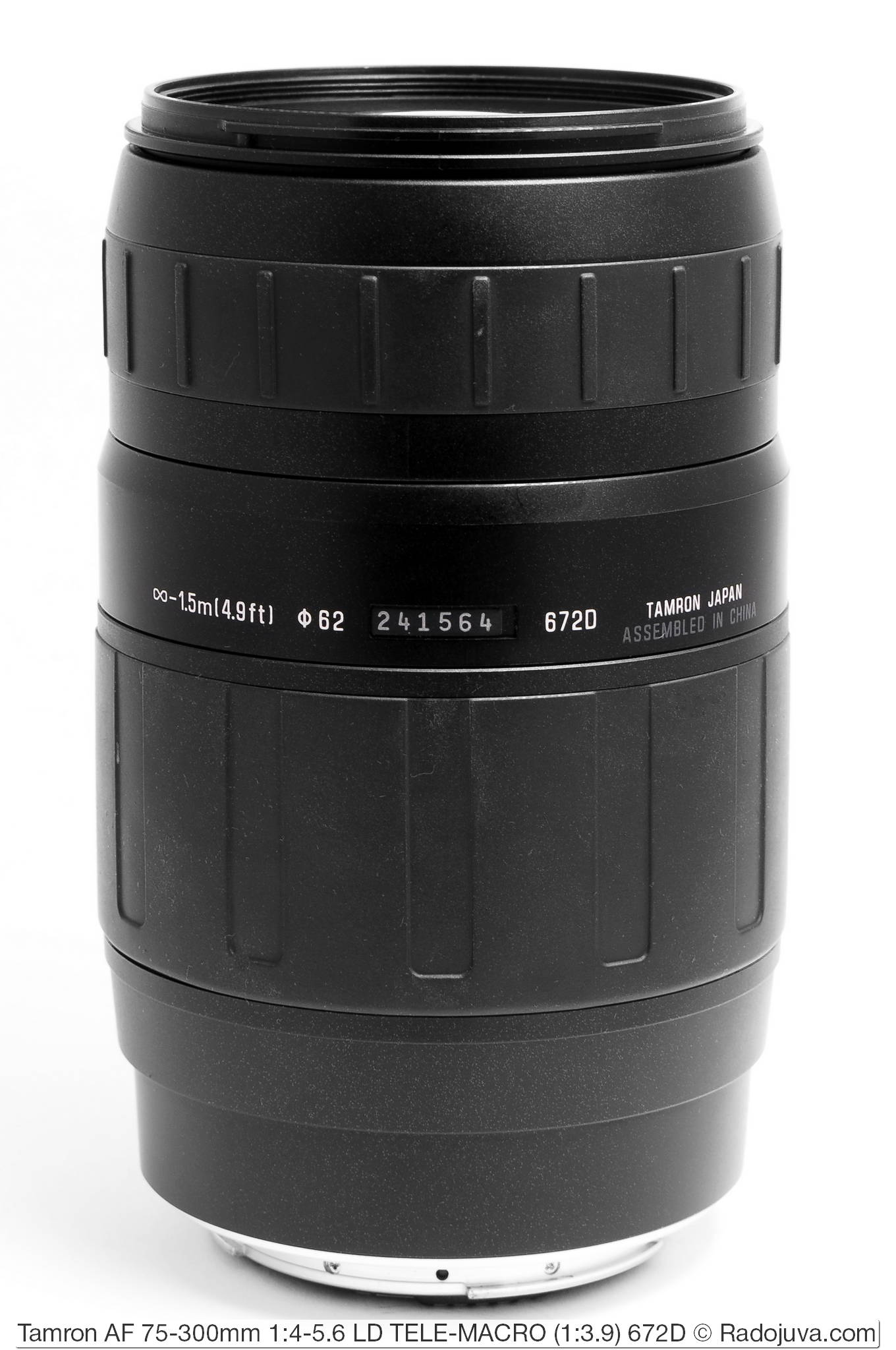 Tamron AF 75-300mm 1:4-5.6 LD TELE-MACRO (1:3.9) 672D