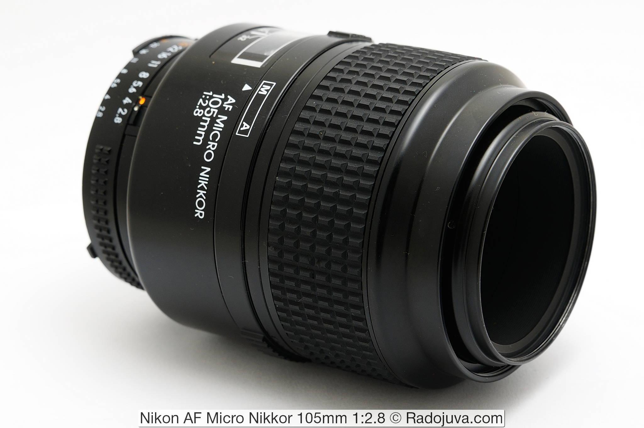 Nikon AF Micro Nikkor 105mm 1:2.8