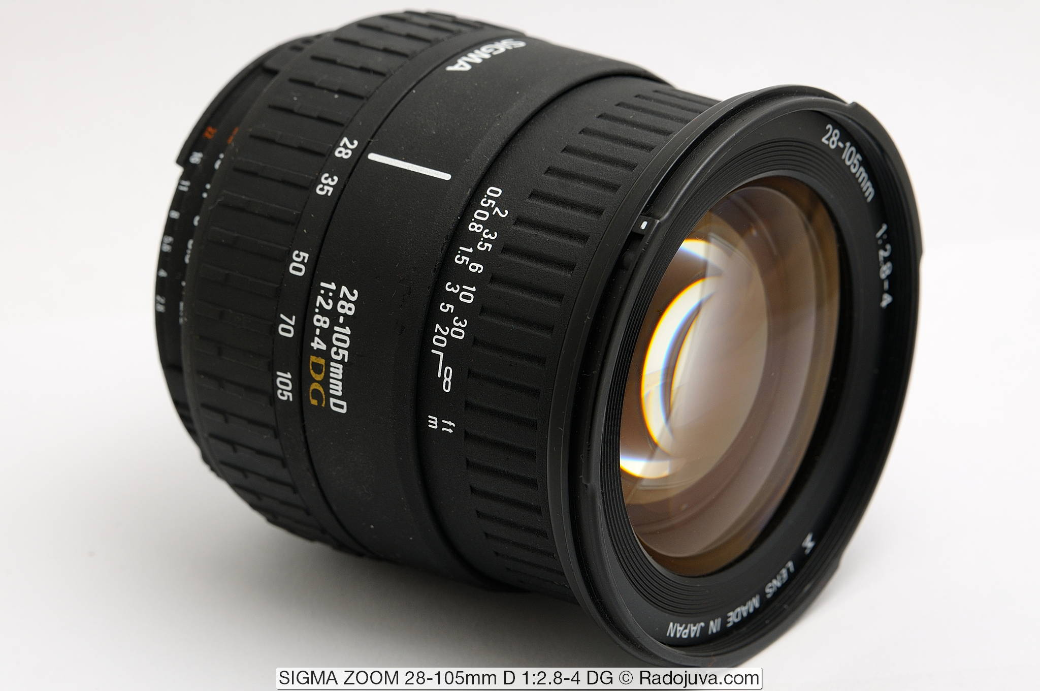 SIGMA ZOOM 28-105mm D 1:2.8-4 DG