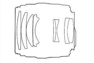 Оптическая схема Yongnuo 100mm