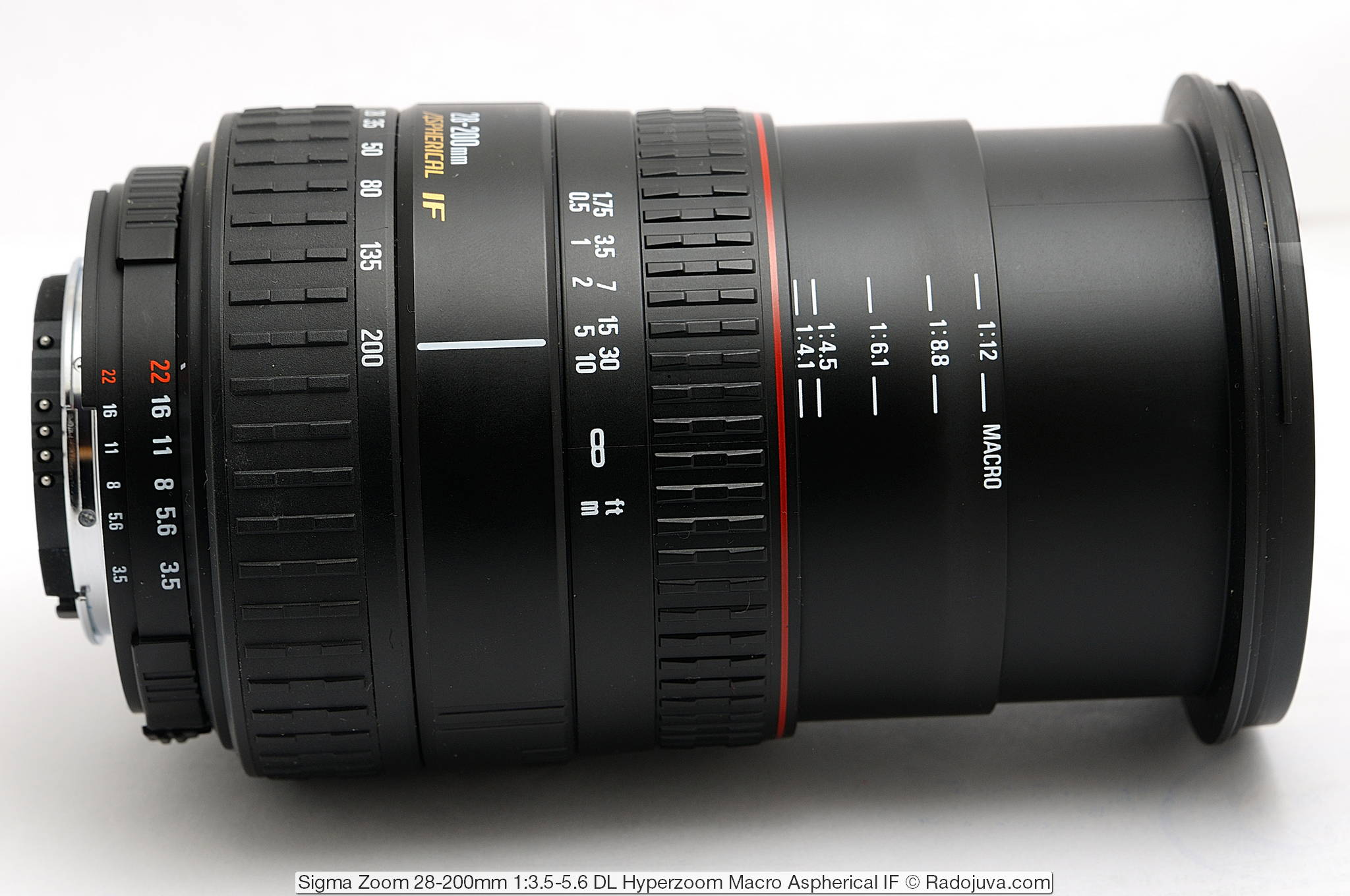 Sigma Zoom 28-200mm 1:3.5-5.6 DL Hyperzoom Macro Aspherical IF