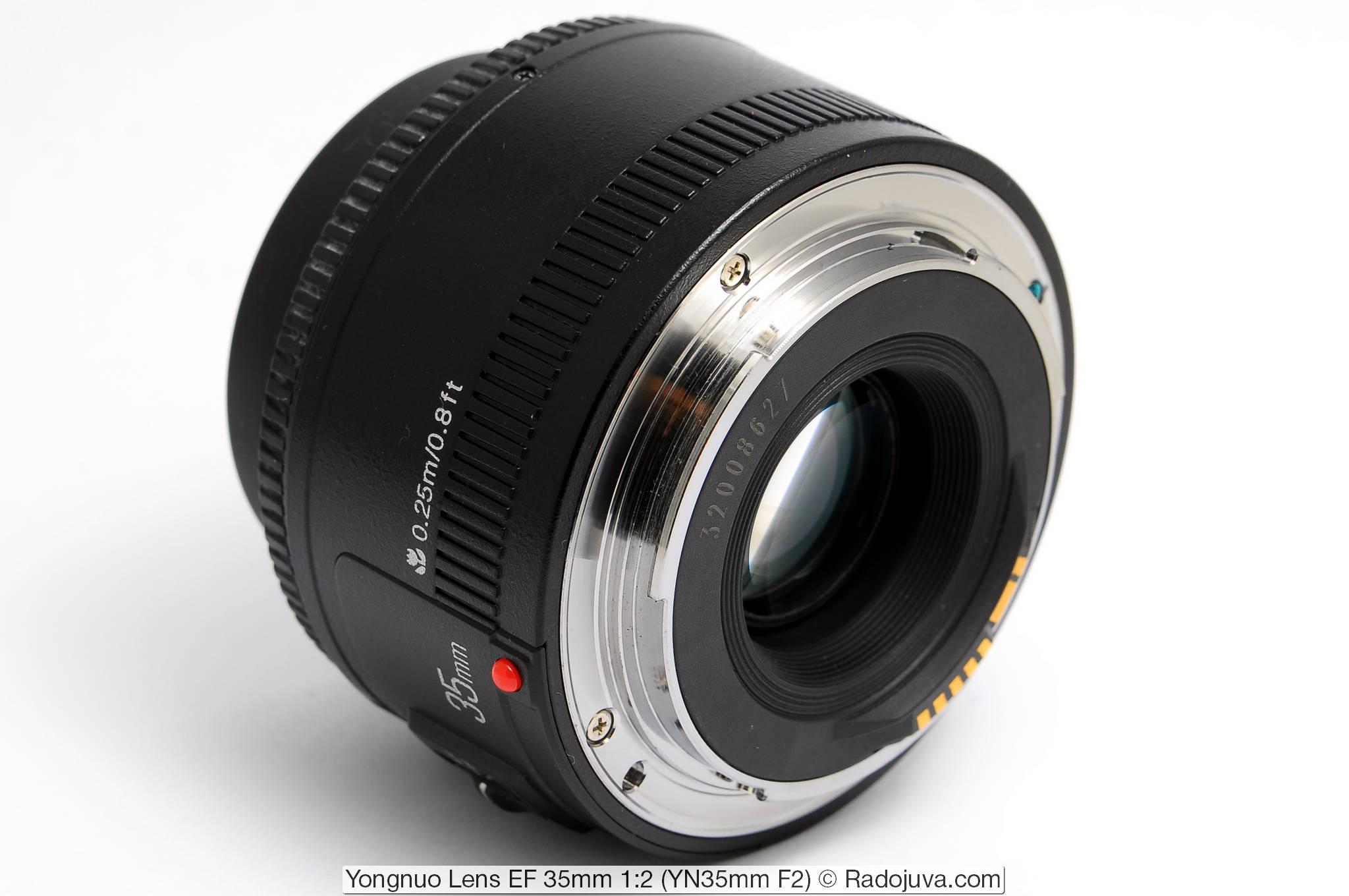 Yongnuo Lens EF 35mm 1:2 (YN35mm F2)