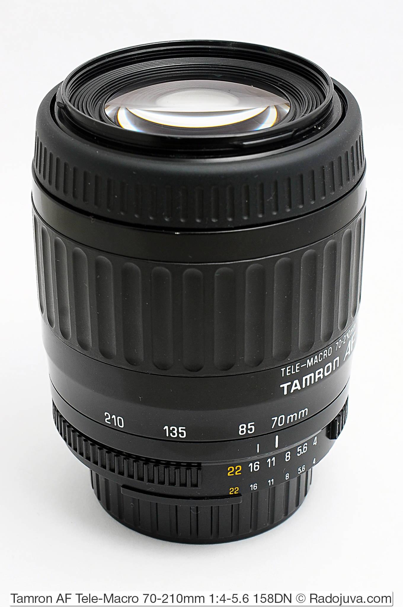 Tamron AF Tele-Macro 70-210mm 1:4-5.6 158DN