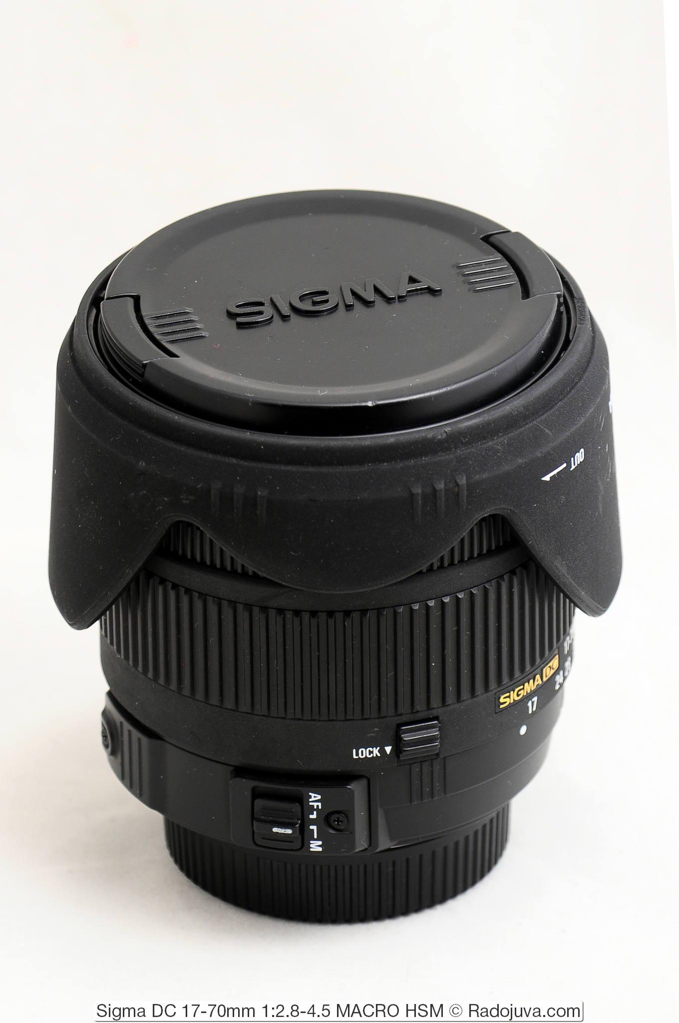 Sigma 17-70/2.8-4.5 Macro HSM