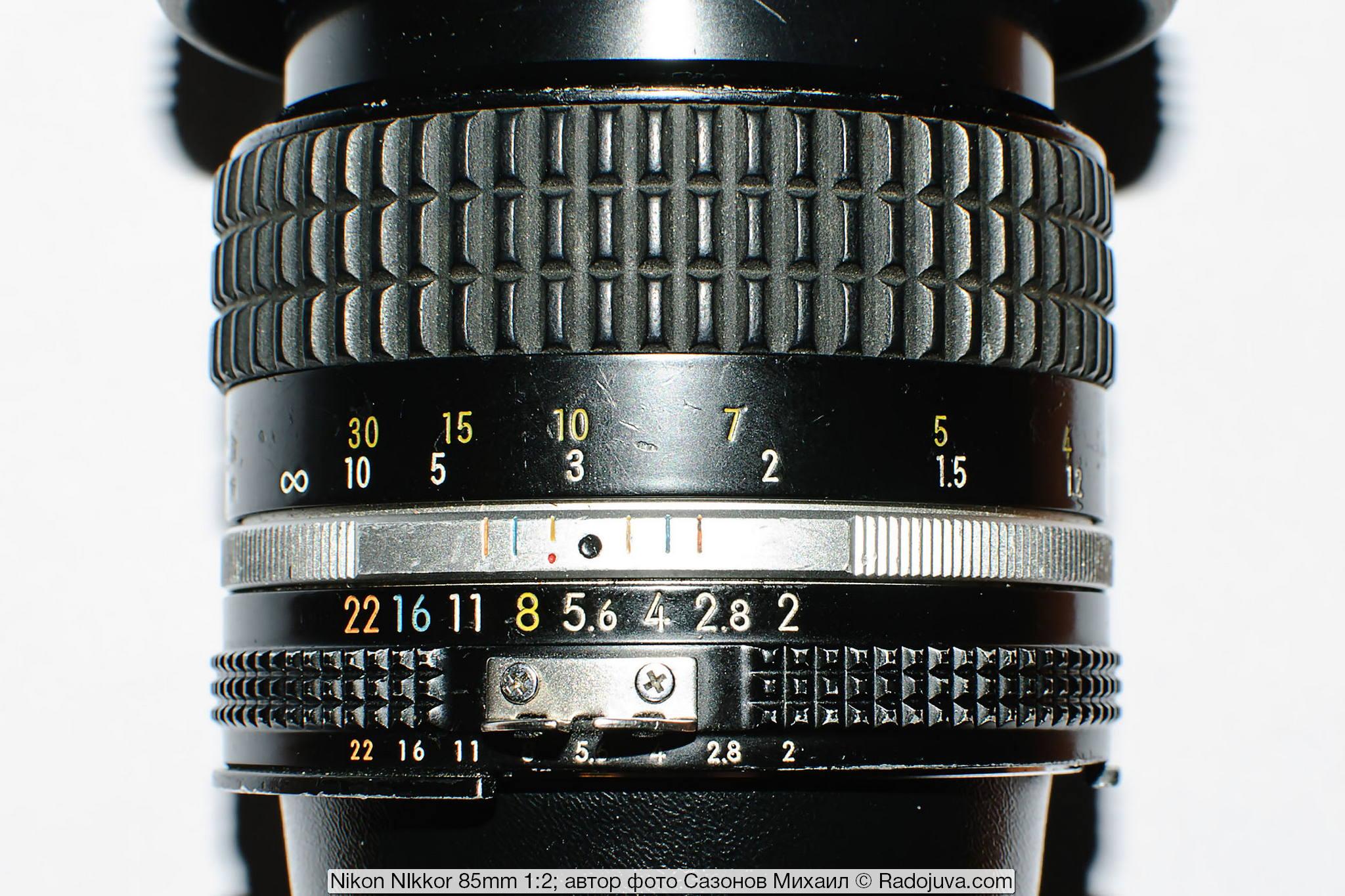 Nikon NIkkor 85mm 1:2 (AI-S)