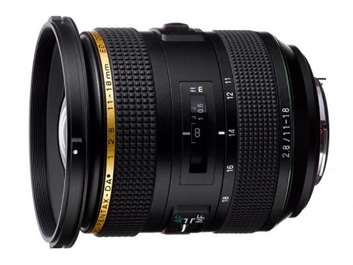HD PENTAX-DA 11-18mm f/2.8ED DC AW