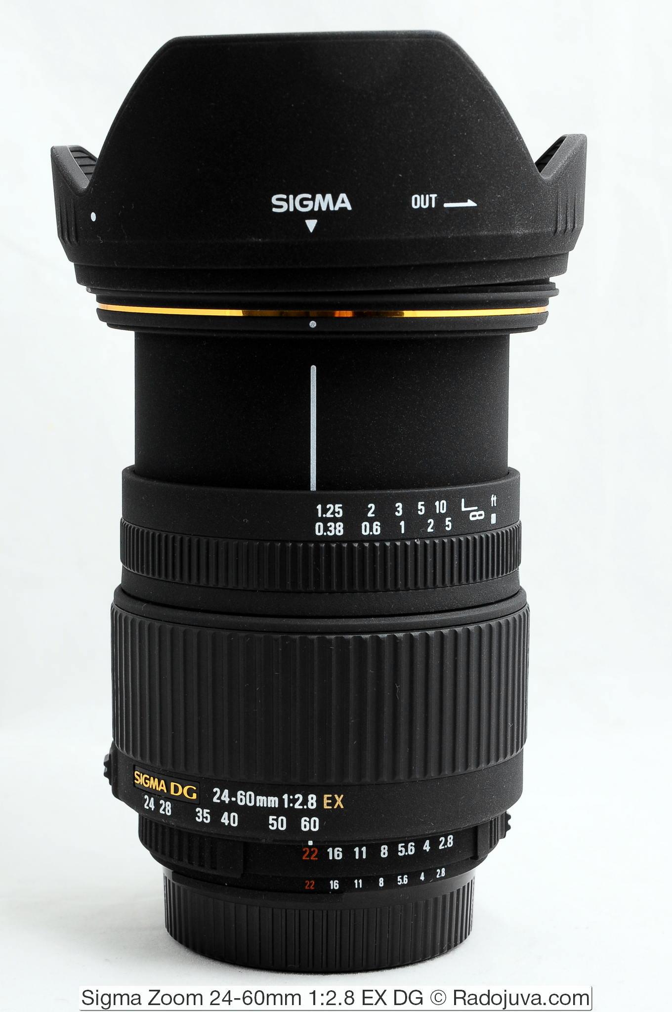 Sigma Zoom 24-60mm 1:2.8 EX DG