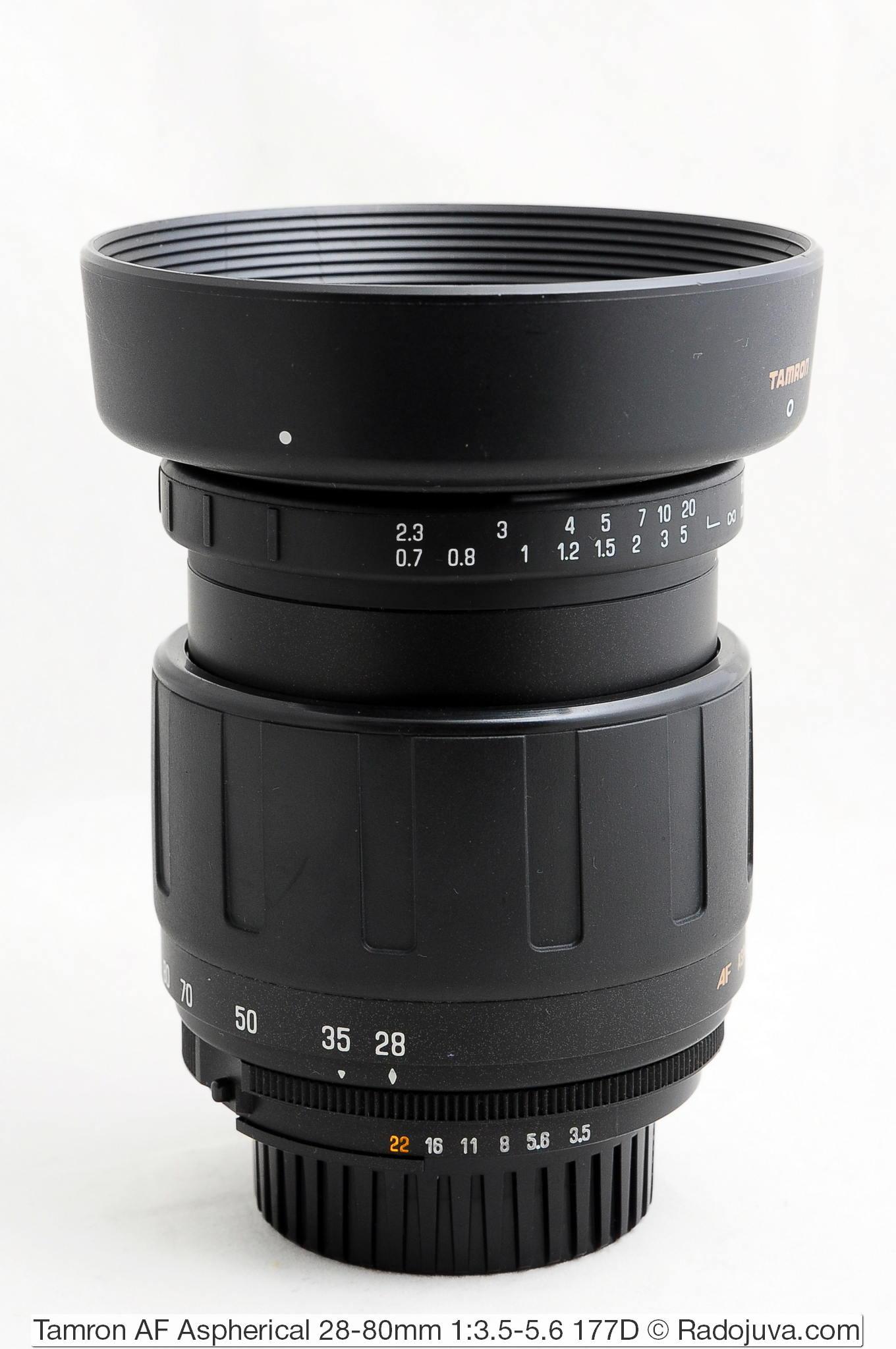 Tamron AF Aspherical 28-80mm 1:3.5-5.6 177D