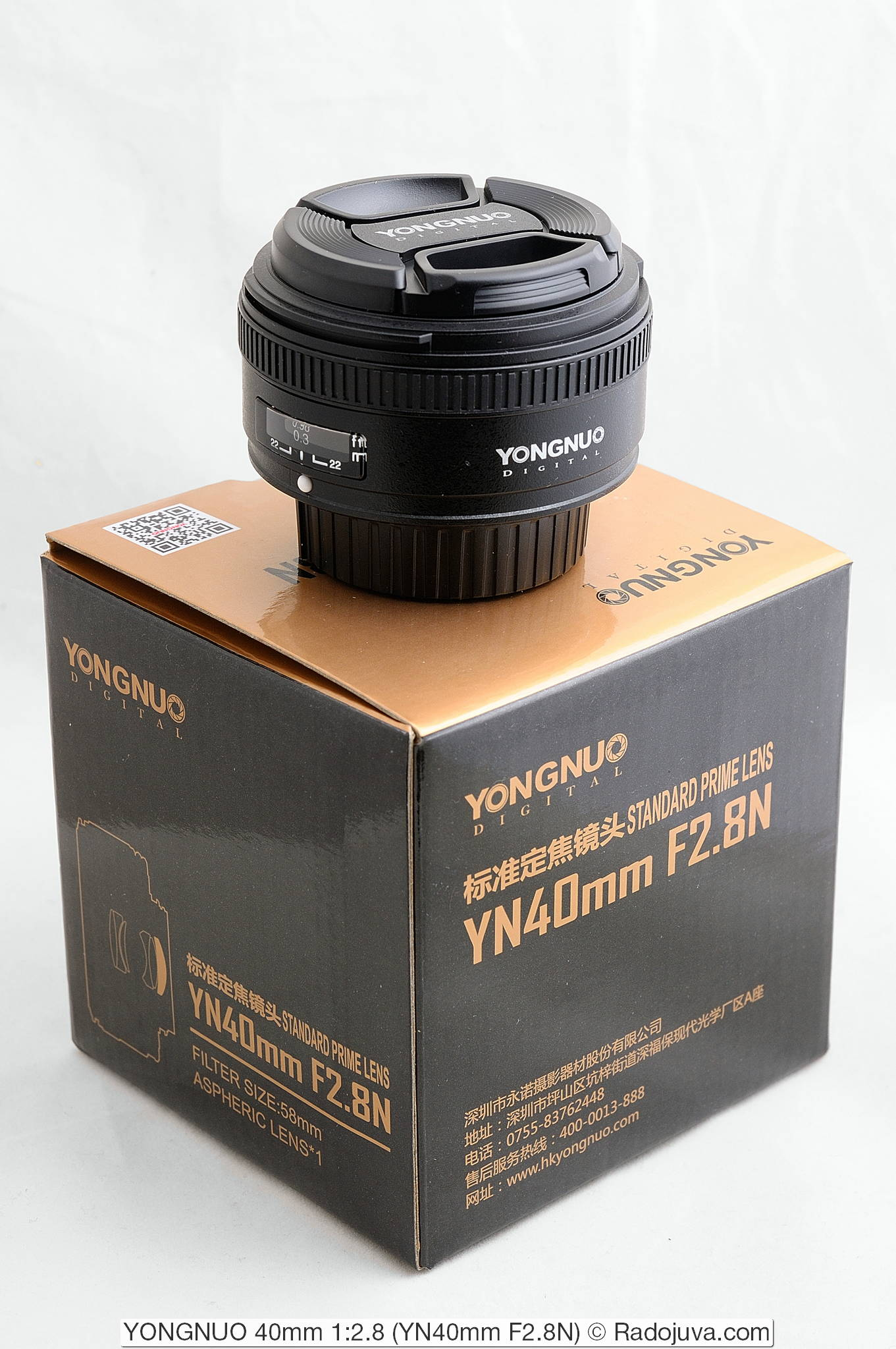 YONGNUO 40mm 1:2.8 (YN40mm F2.8N)