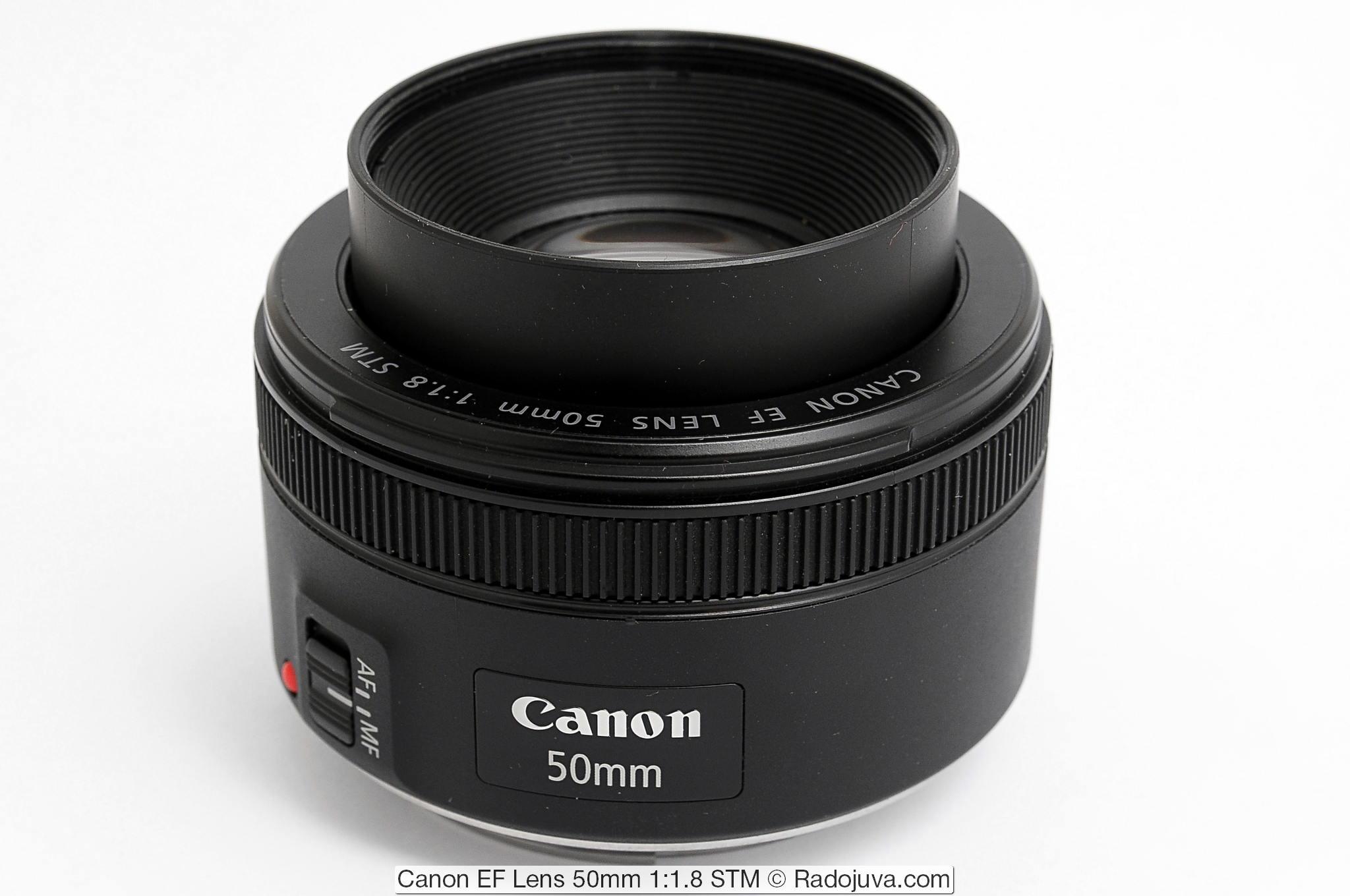 Canon EF Lens 50mm 1:1.8 STM