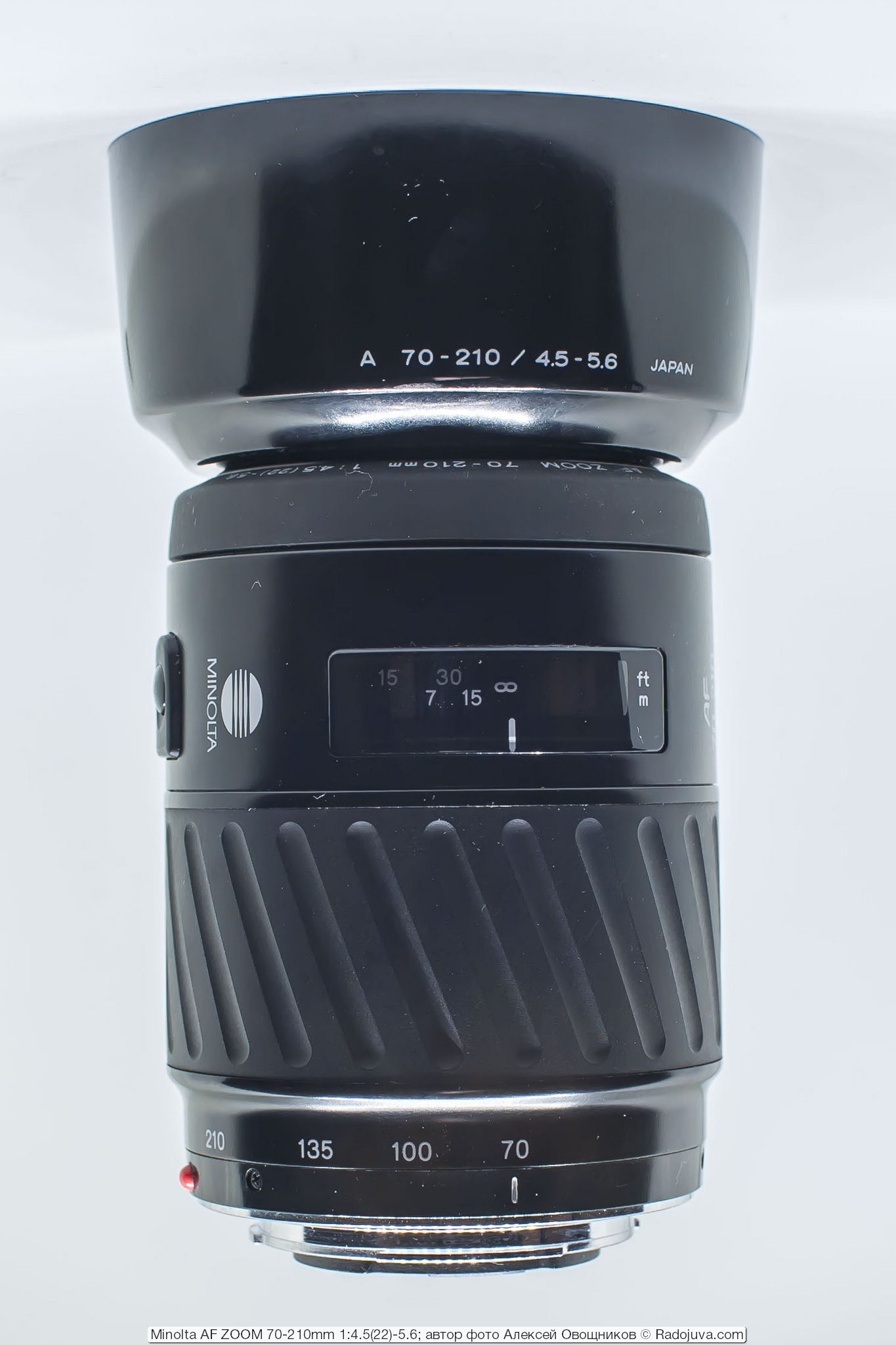 Minolta AF ZOOM 70-210mm 1:4.5(22)-5.6