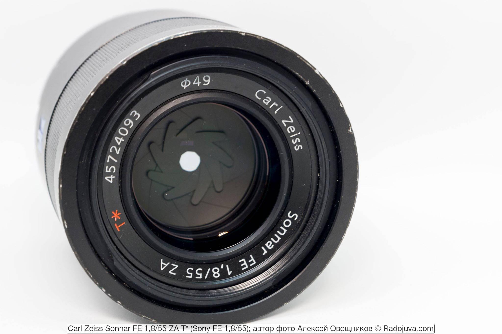 Carl Zeiss Sonnar FE 1,8/55 ZA T* (Sony FE 1,8/55)