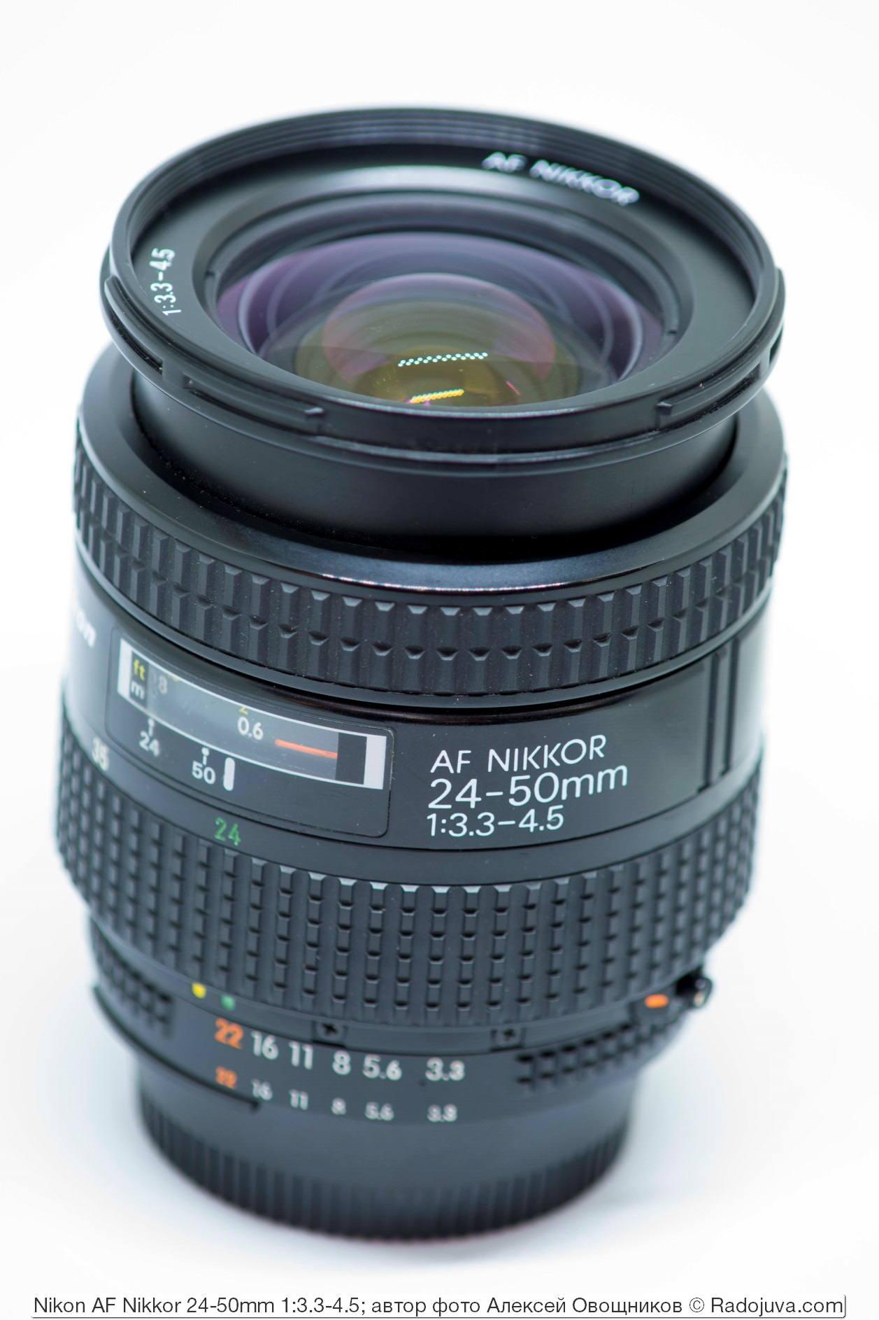 Nikon AF Nikkor 24-50mm 1:3.3-4.5