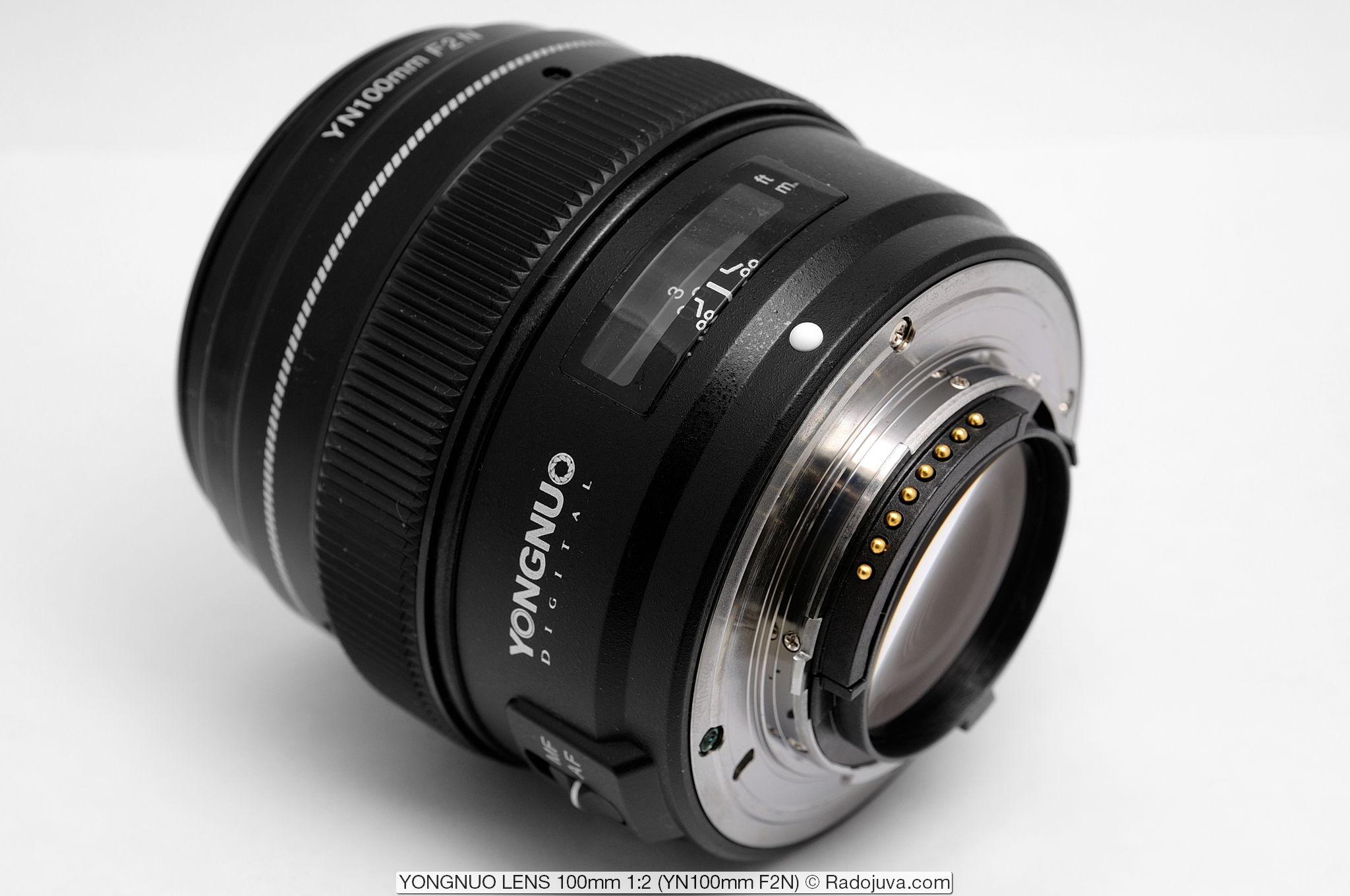 YONGNUO LENS 100mm 1:2 YN100mm F2N для Nikon