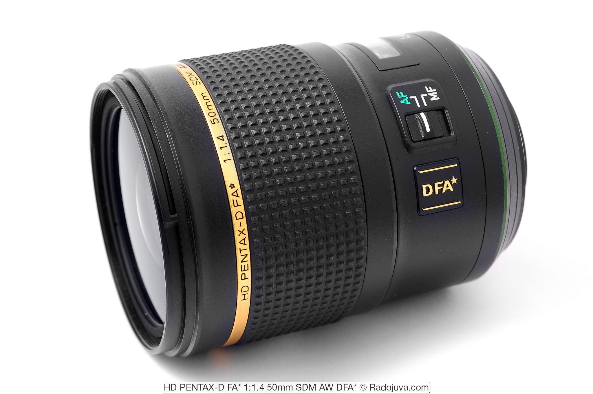 HD PENTAX-D FA* 1:1.4 50mm SDM AW DFA*