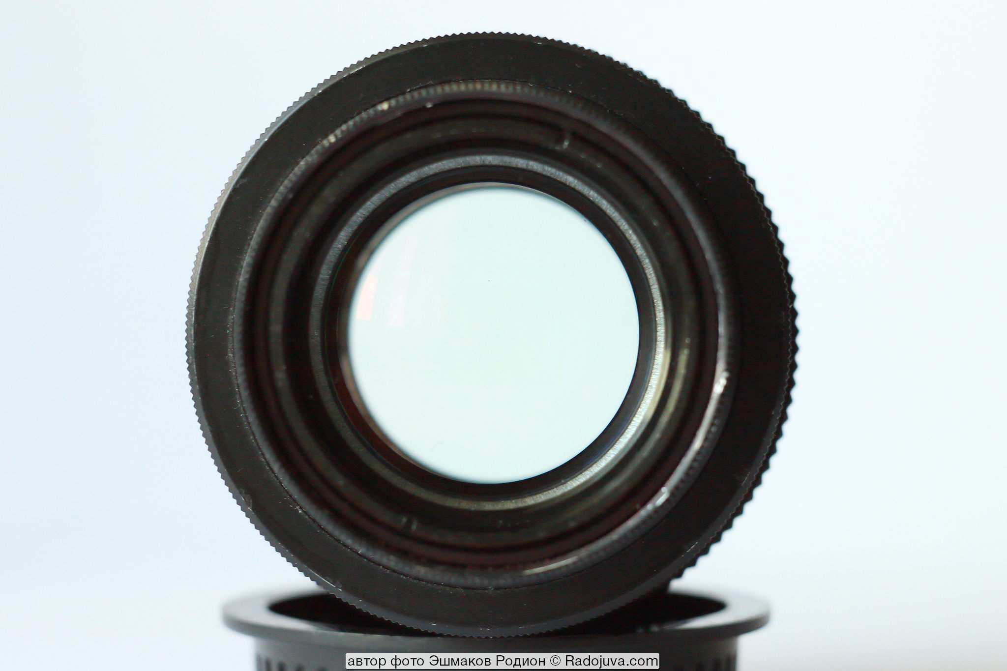 View of the converted lens F = 137