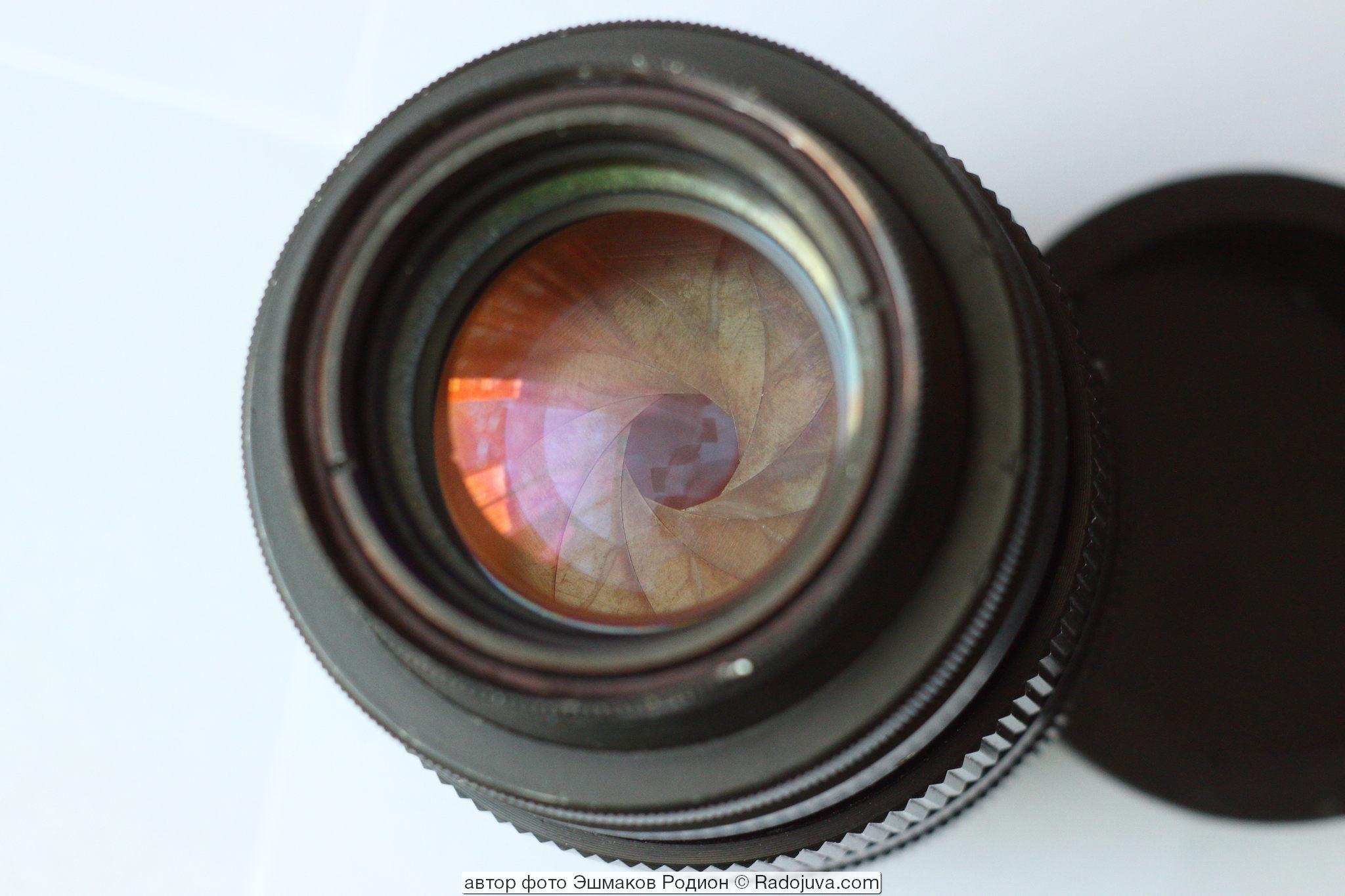 Вид переделанного объектива F=137