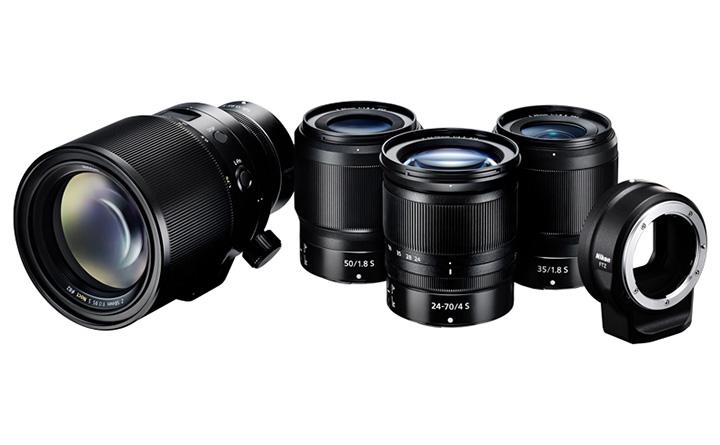 Новые объективы Nikon S