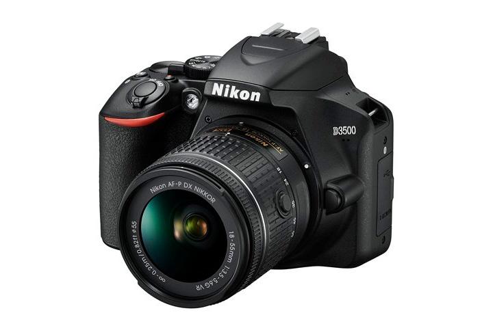 Nikon D3500 с китовым объективом Nikon DX VR AF-P Nikkor 18-55mm 1:3.5-5.6G
