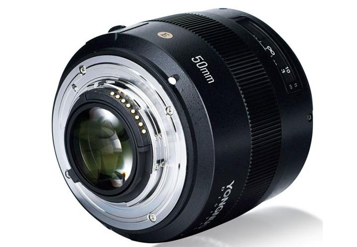 YONGNUO 50mm F/1.4 N E