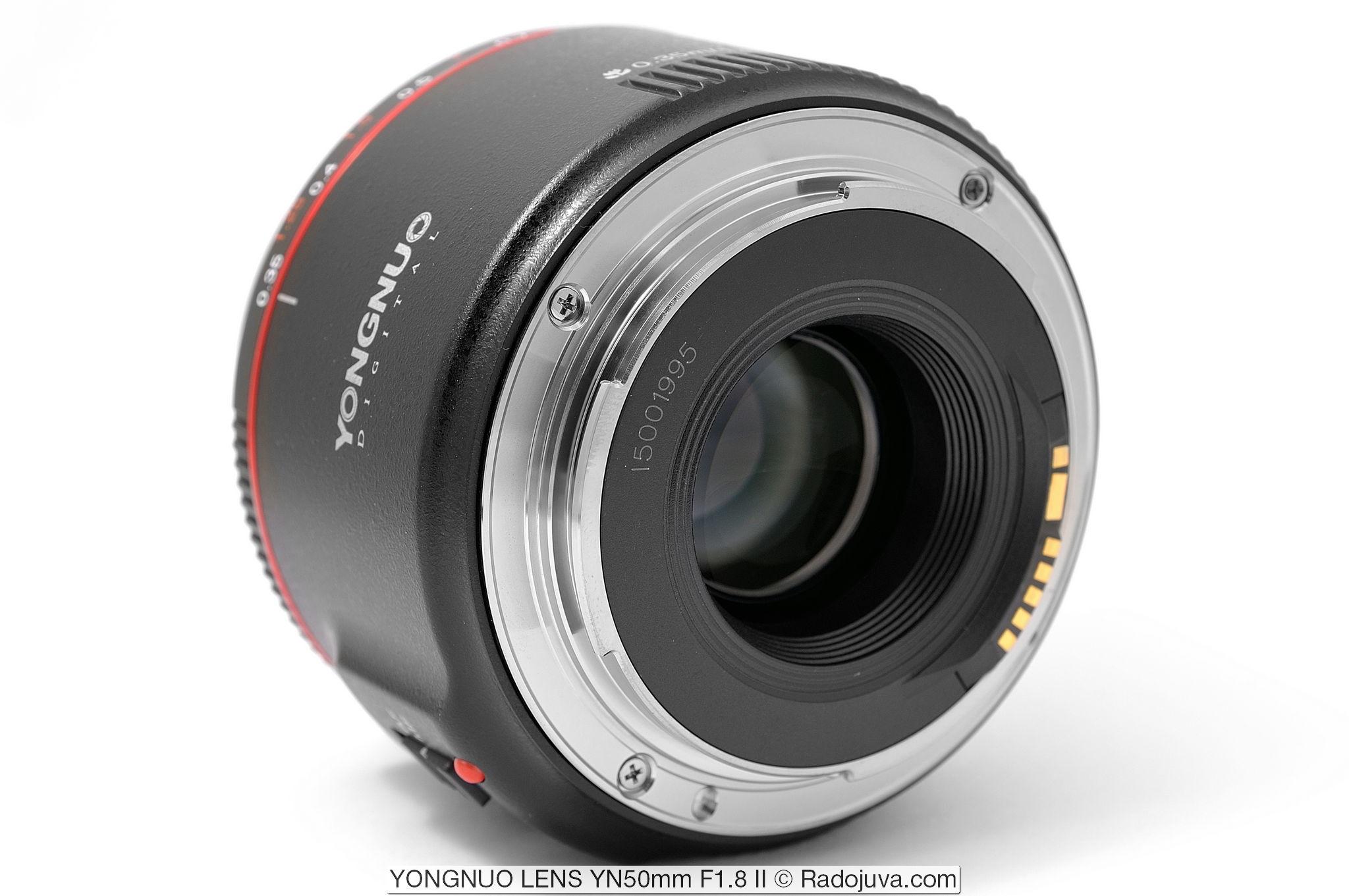 YONGNUO LENS YN50mm F1.8 II