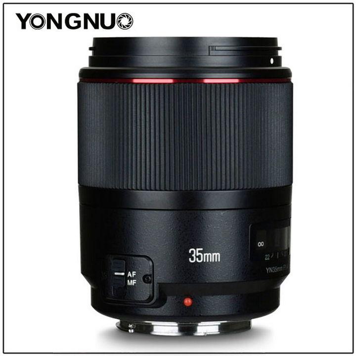 Yongnuo Lens 35mm 1:1.4 (модель YN35mm F1.4)
