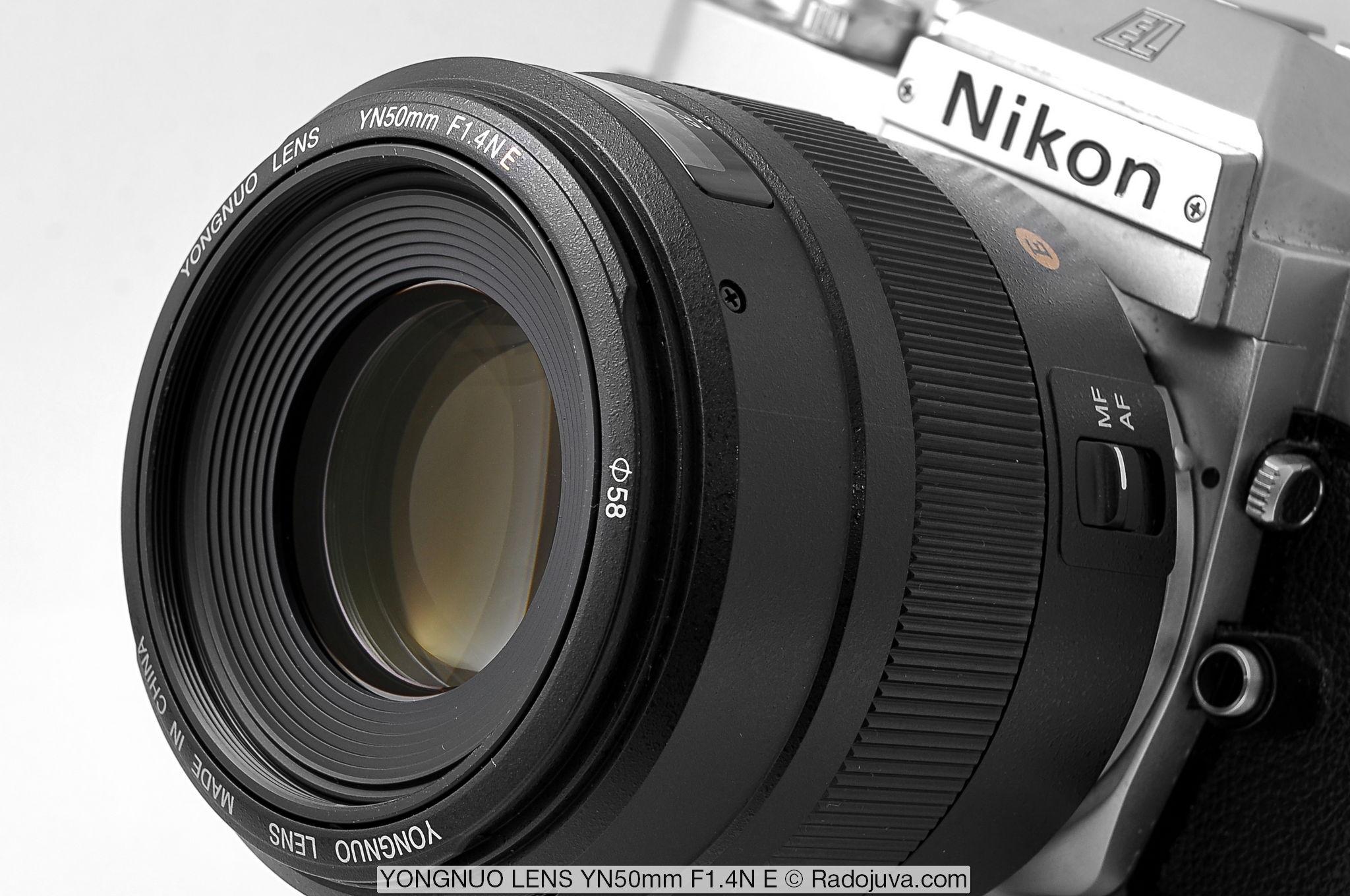 YONGNUO LENS YN50mm F1.4N