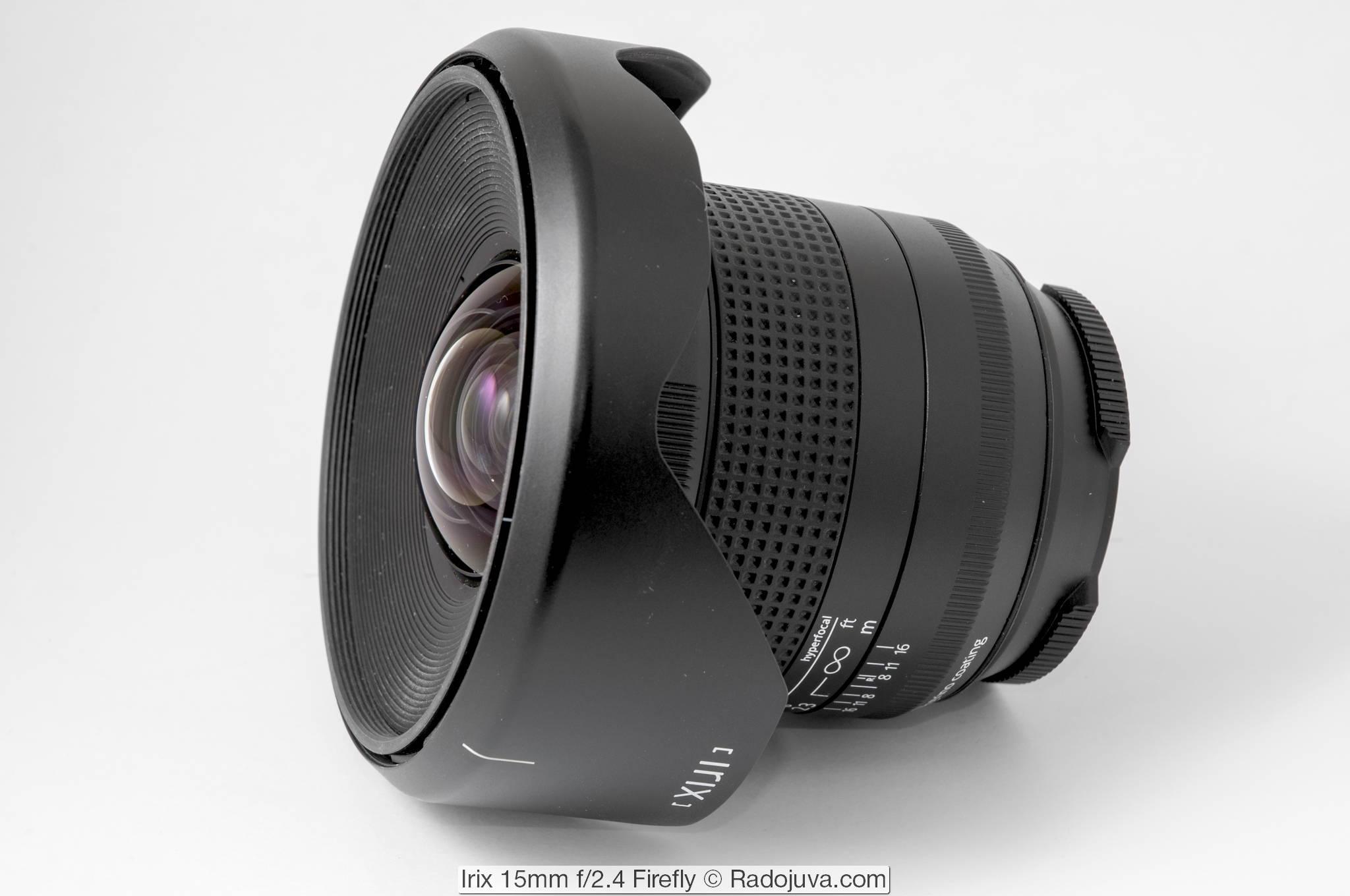 Irix 15mm f/2.4 Firefly