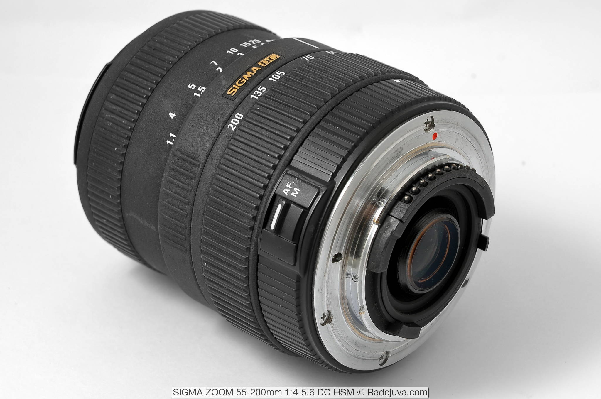 SIGMA ZOOM 55-200mm 1:4-5.6 DC HSM