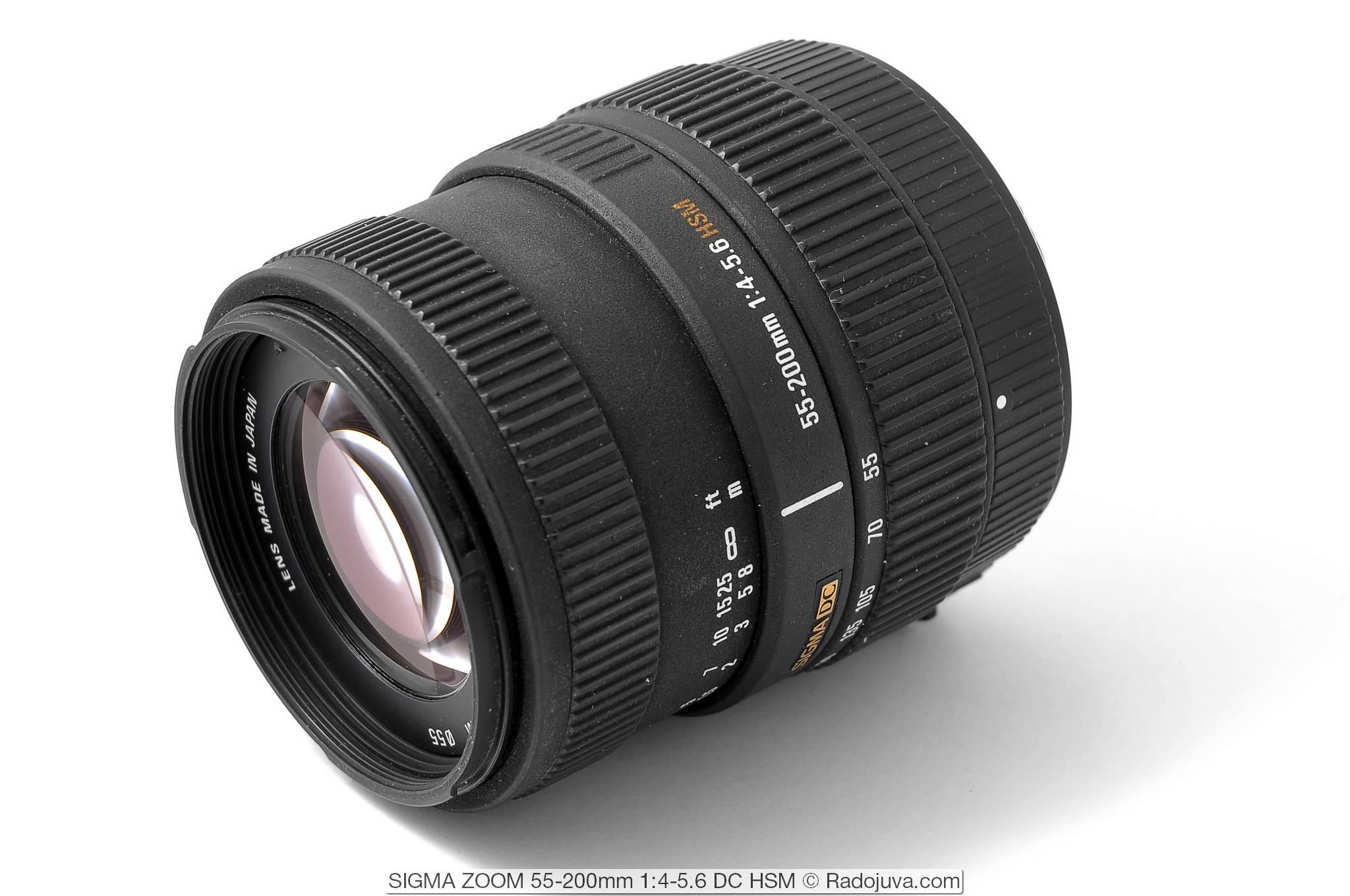 SIGMA ZOOM 55-200mm 1:4-5.6 DC HSM