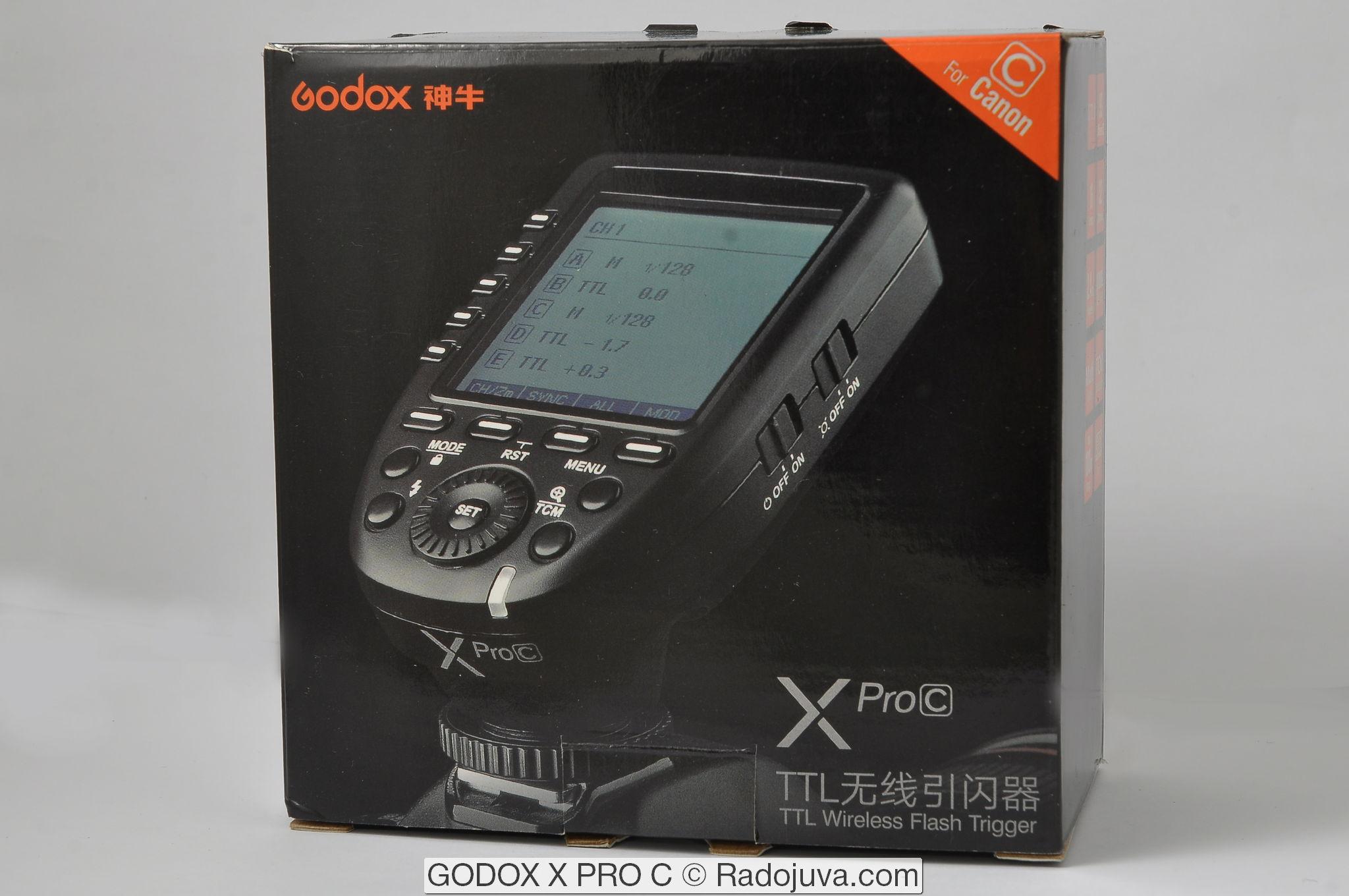 GODOX X PRO C