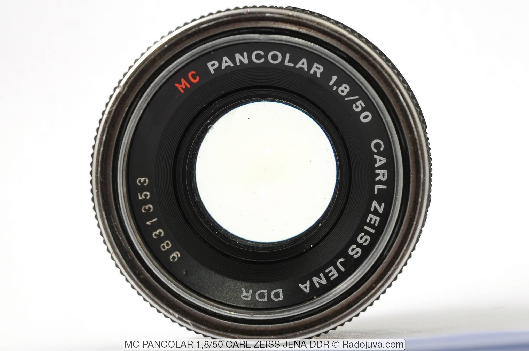 MC PANCOLAR 1,8/50 CARL ZEISS JENA DDR